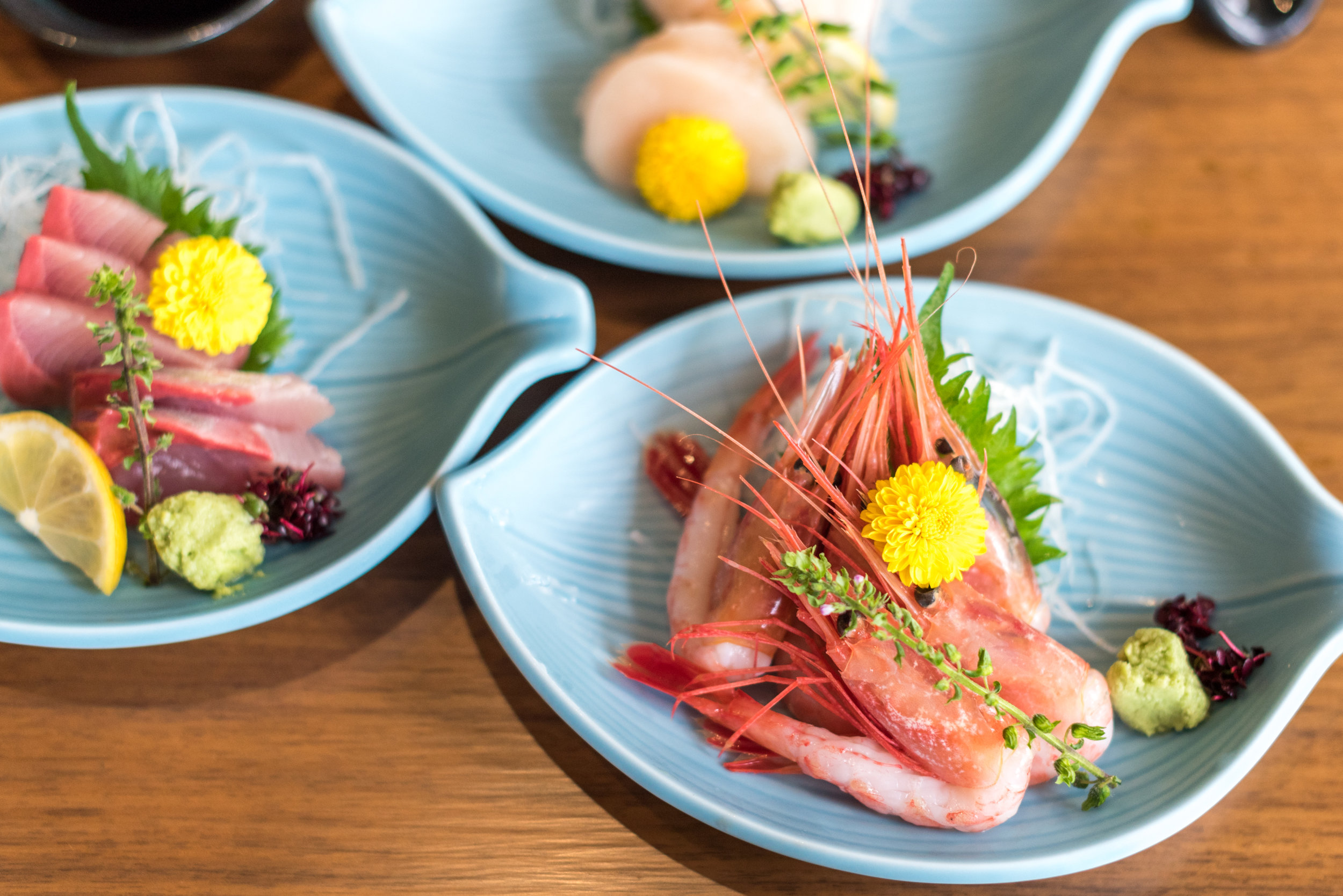 Choice of Sashimi (5 Pieces for Diner) - Bubbly Brunch Keyaki - Pan Pacific Singapore