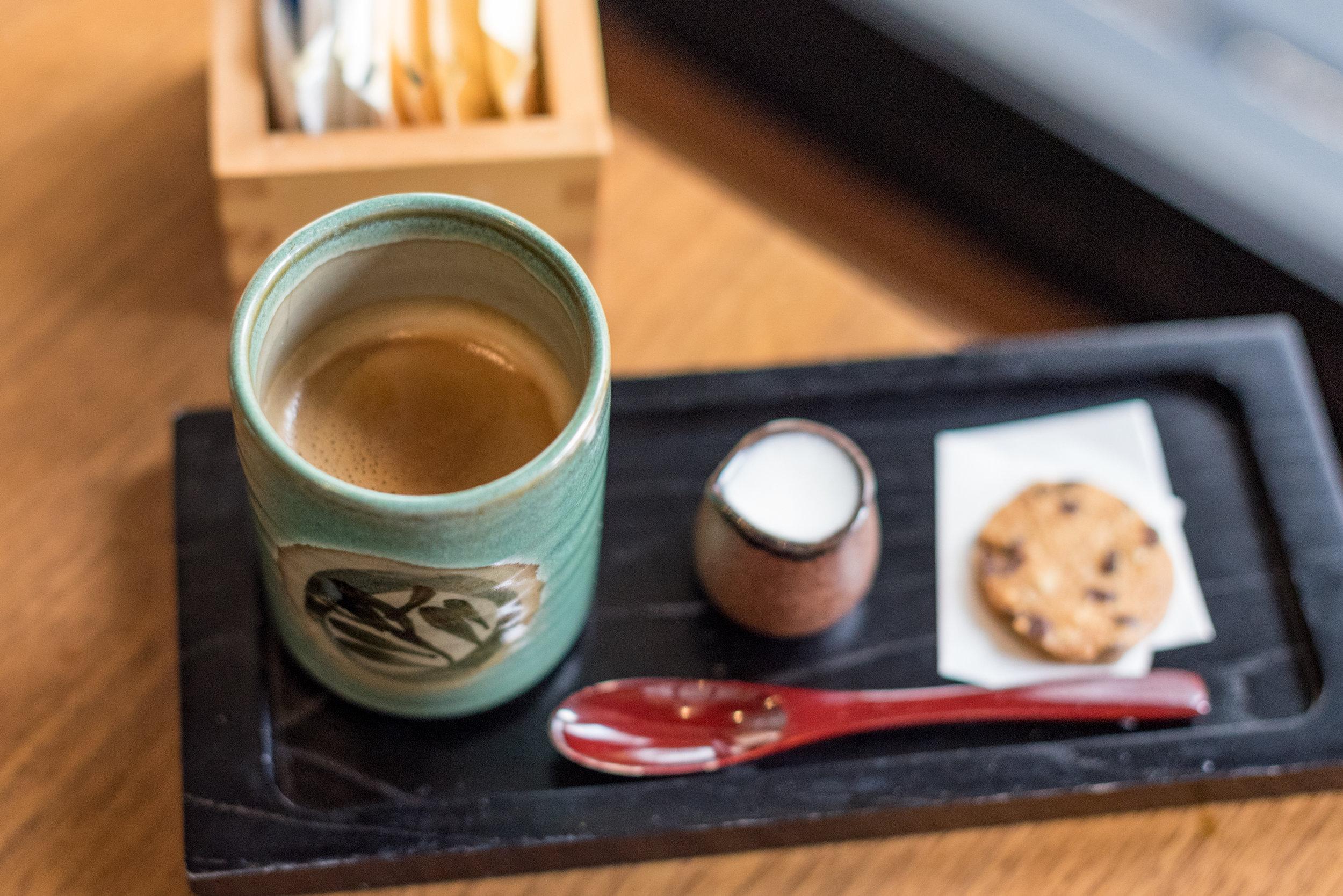 Coffee  - Bubbly Brunch Keyaki - Pan Pacific Singapore
