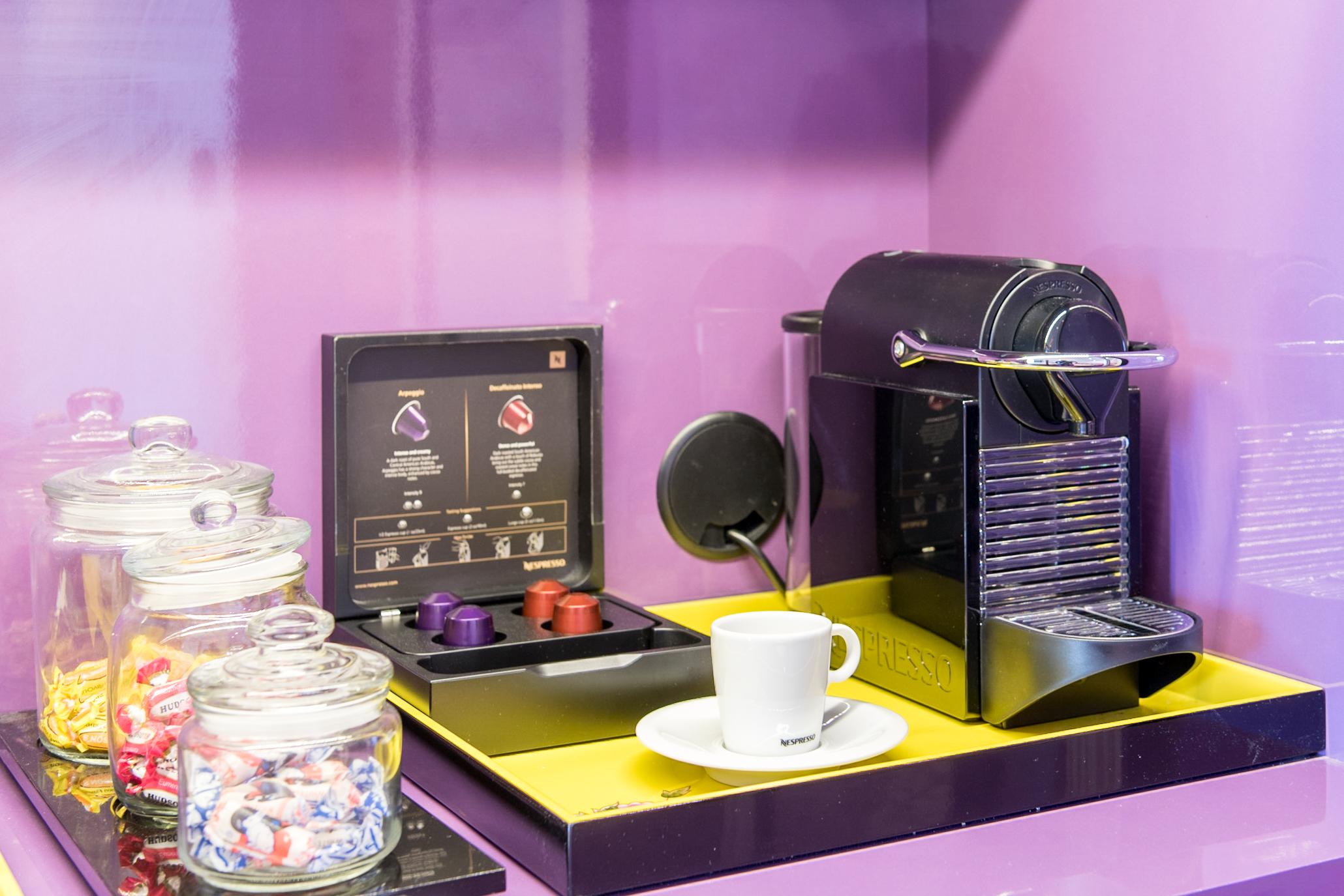 Nespresso Coffee Machine  Premier View Room with Bathtub - Hotel Indigo Singapore Katong