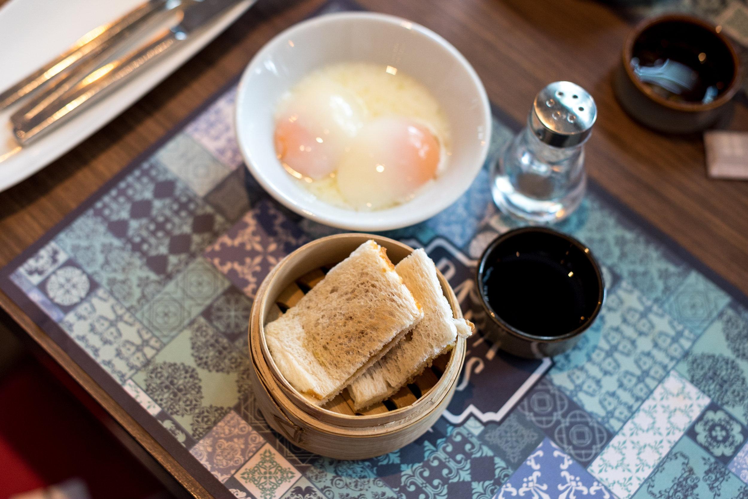 Kaya Toast and Eggs - Breakfast  Baba Chews - Hotel Indigo Singapore Katong