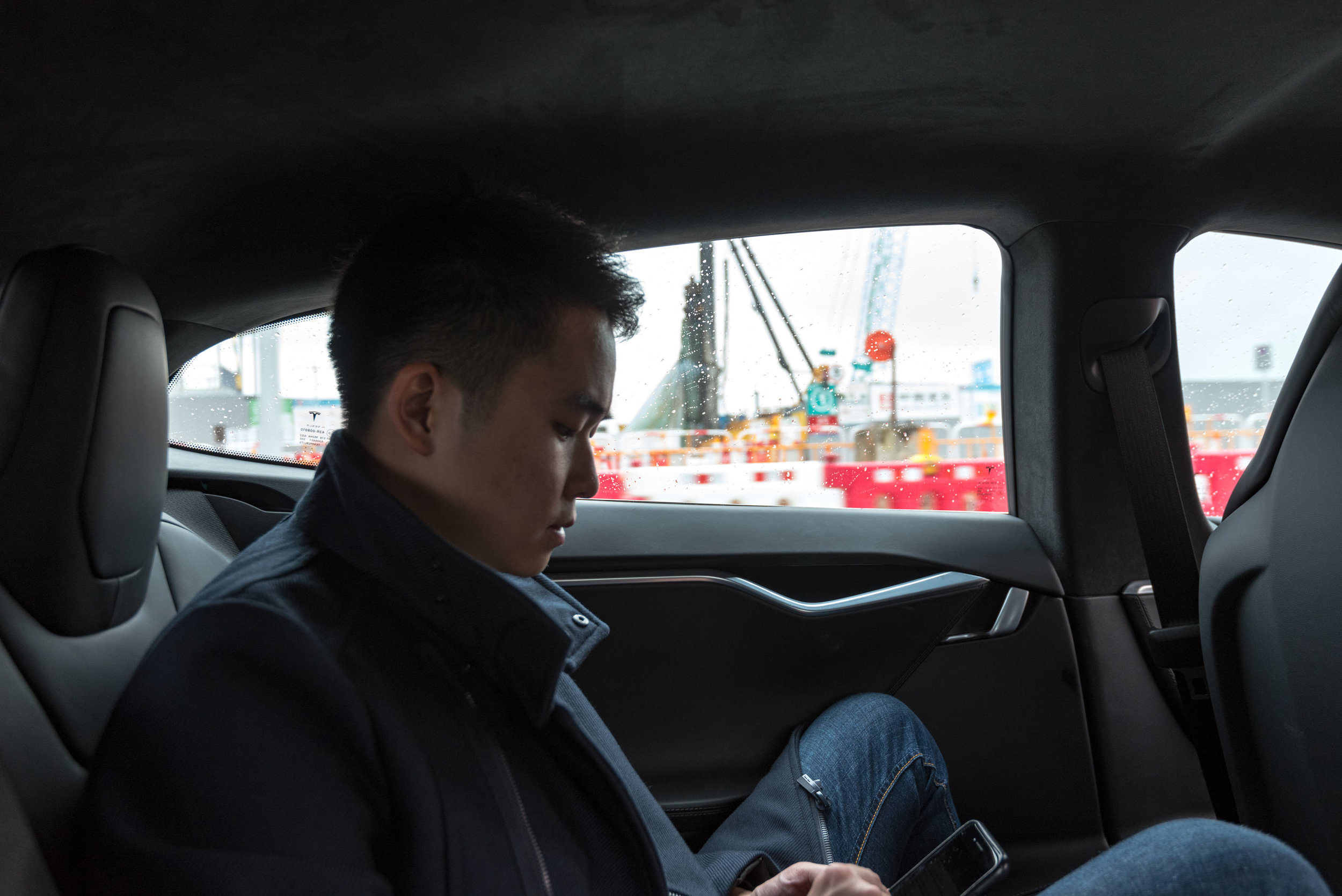Tesla S Airport Transfer  Klook