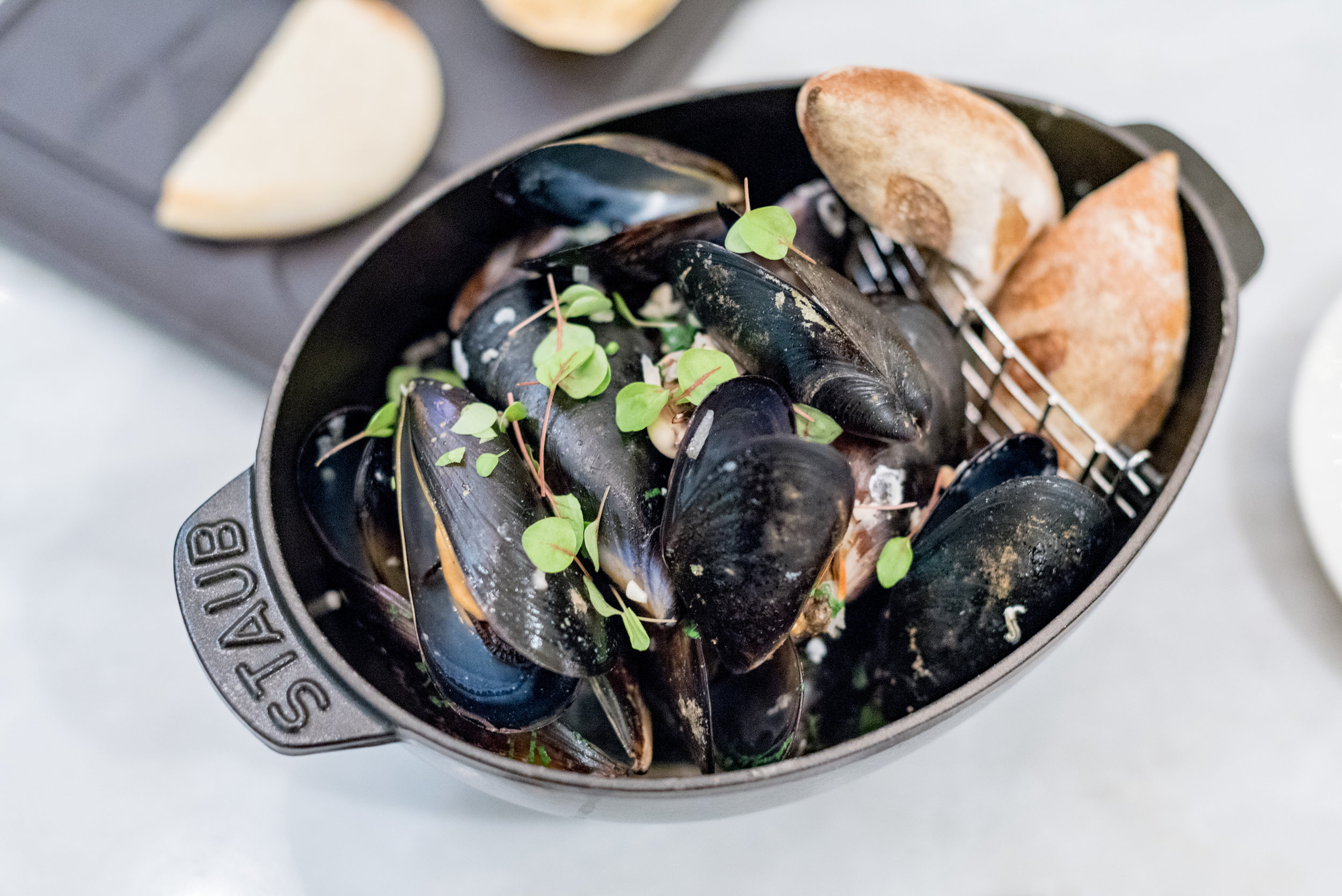 French Black Mussels (S$16++)  Pacific Marketplace - Pan Pacific Singapore