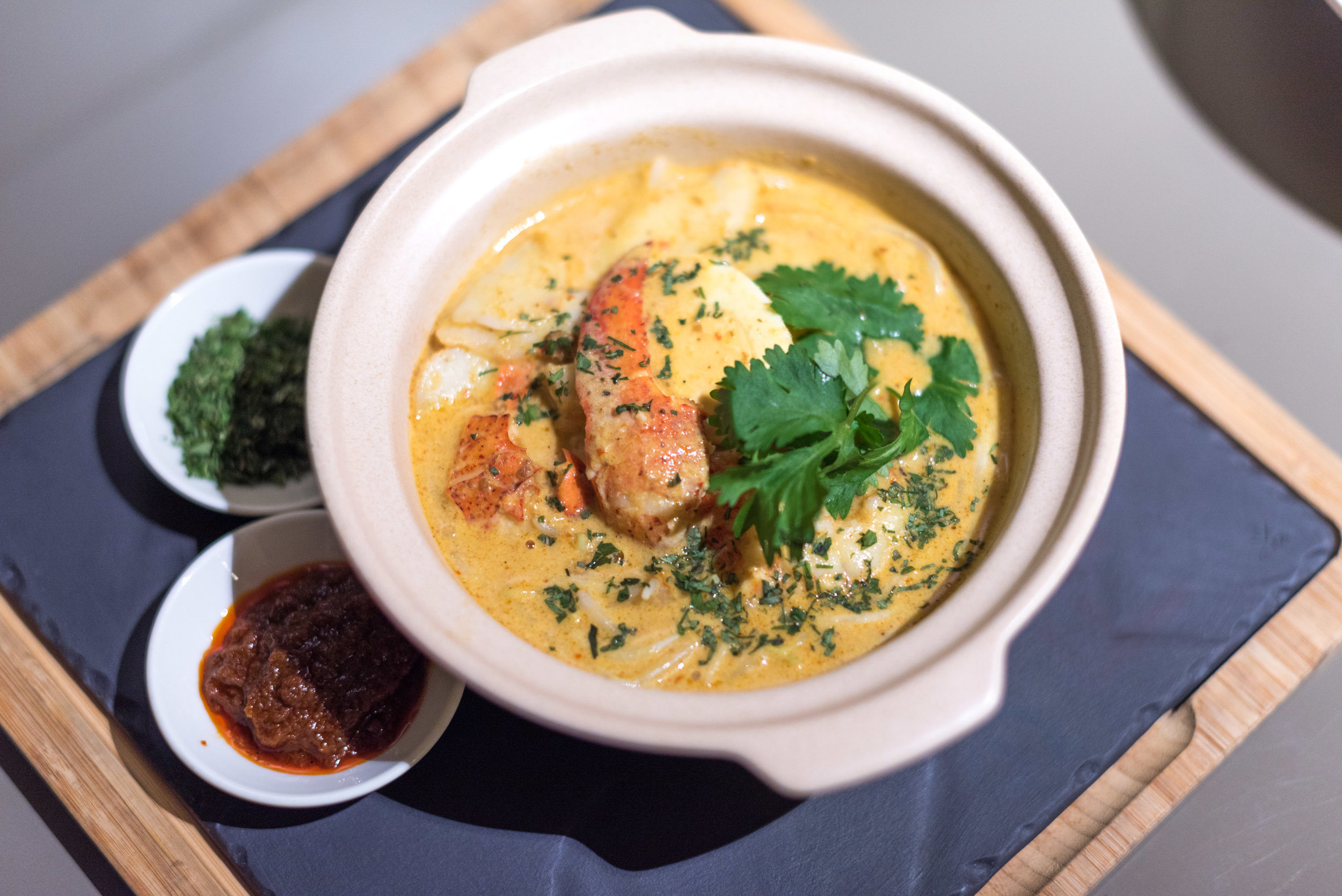 Pacific Lobster Laksa (S$25++)  Pacific Marketplace - Pan Pacific Singapore