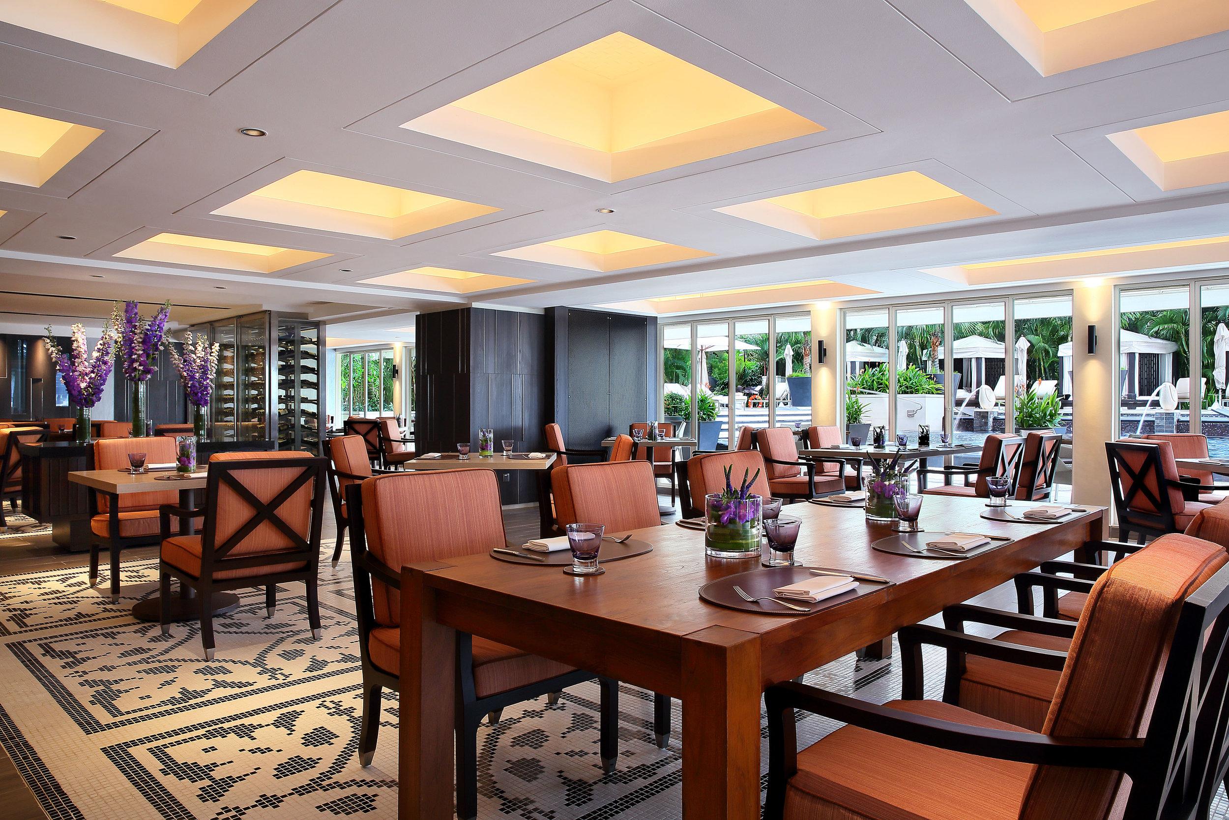 New Dolce Vita Interiors   Photo Credit: Mandarin Oriental, Singapore