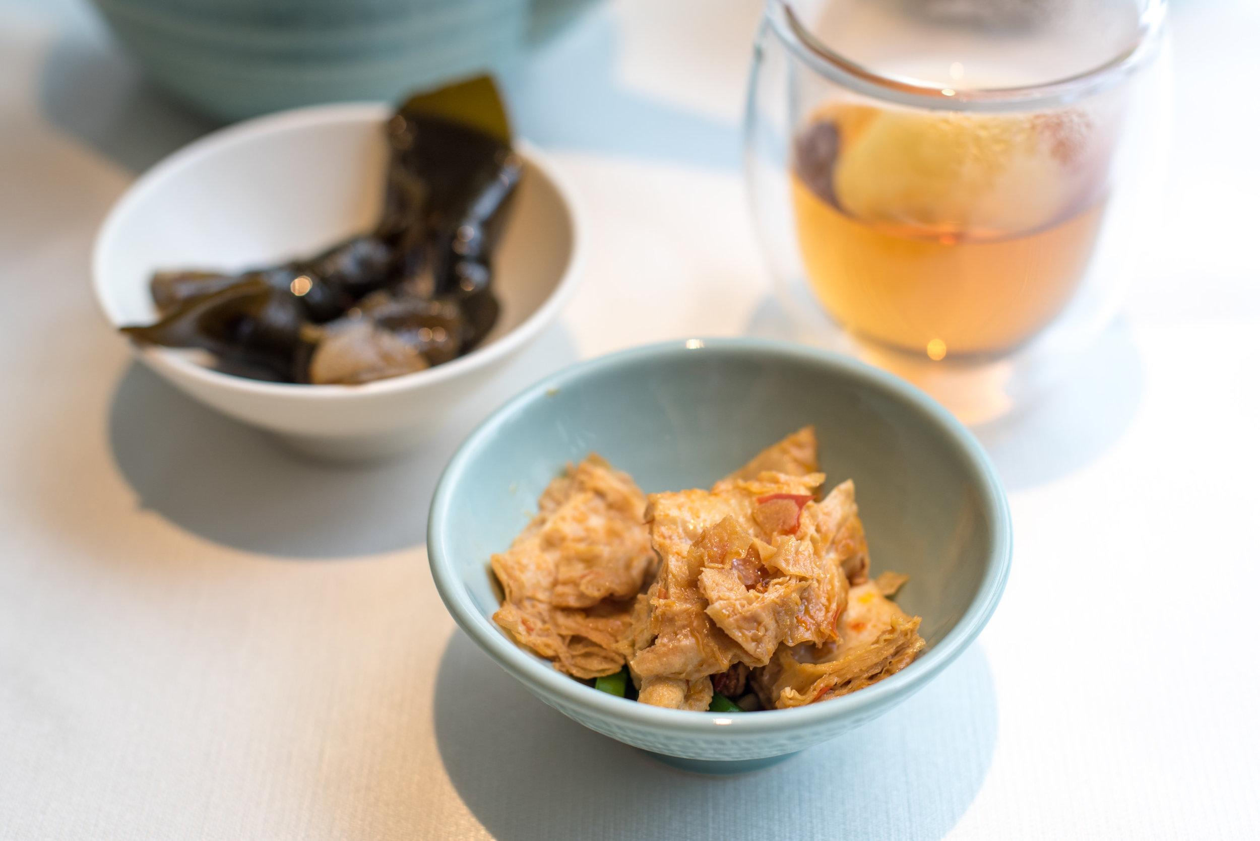 Appetisers and Sun Moon Lake Ruby Tea (NT$100+ per Person)  Yun Jin Chinese Restaurant - Grand Hyatt Taipei
