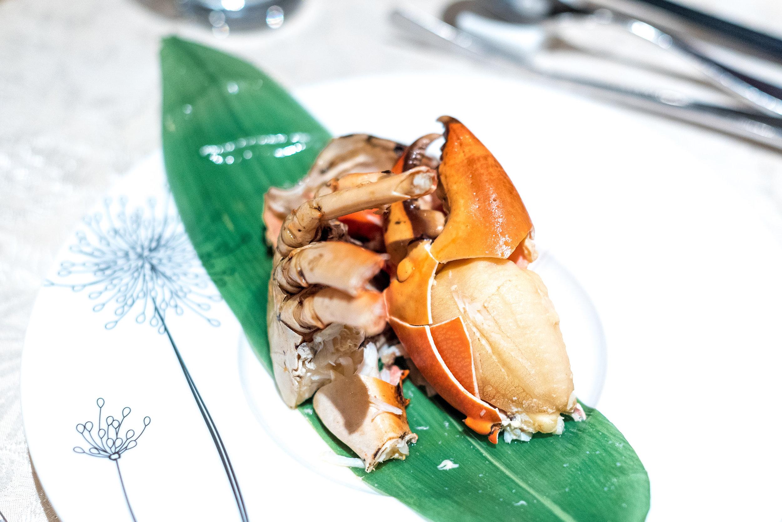 Tong'an Pan-fried Crab (同安煎蟹)  Hai Tien Lo - Pan Pacific Singapore