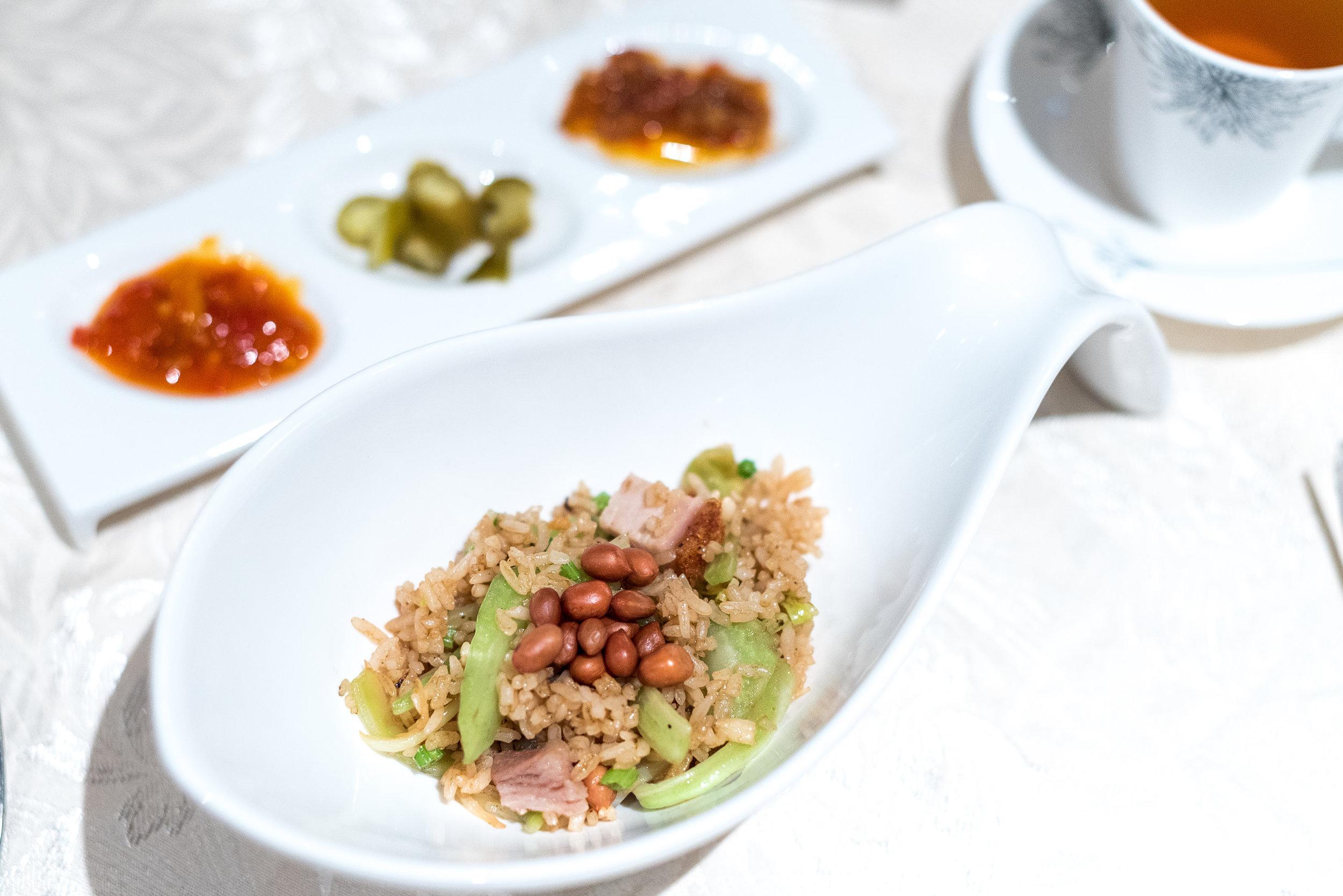Xiamen Fried Rice (闽南芥菜饭)  Hai Tien Lo - Pan Pacific Singapore