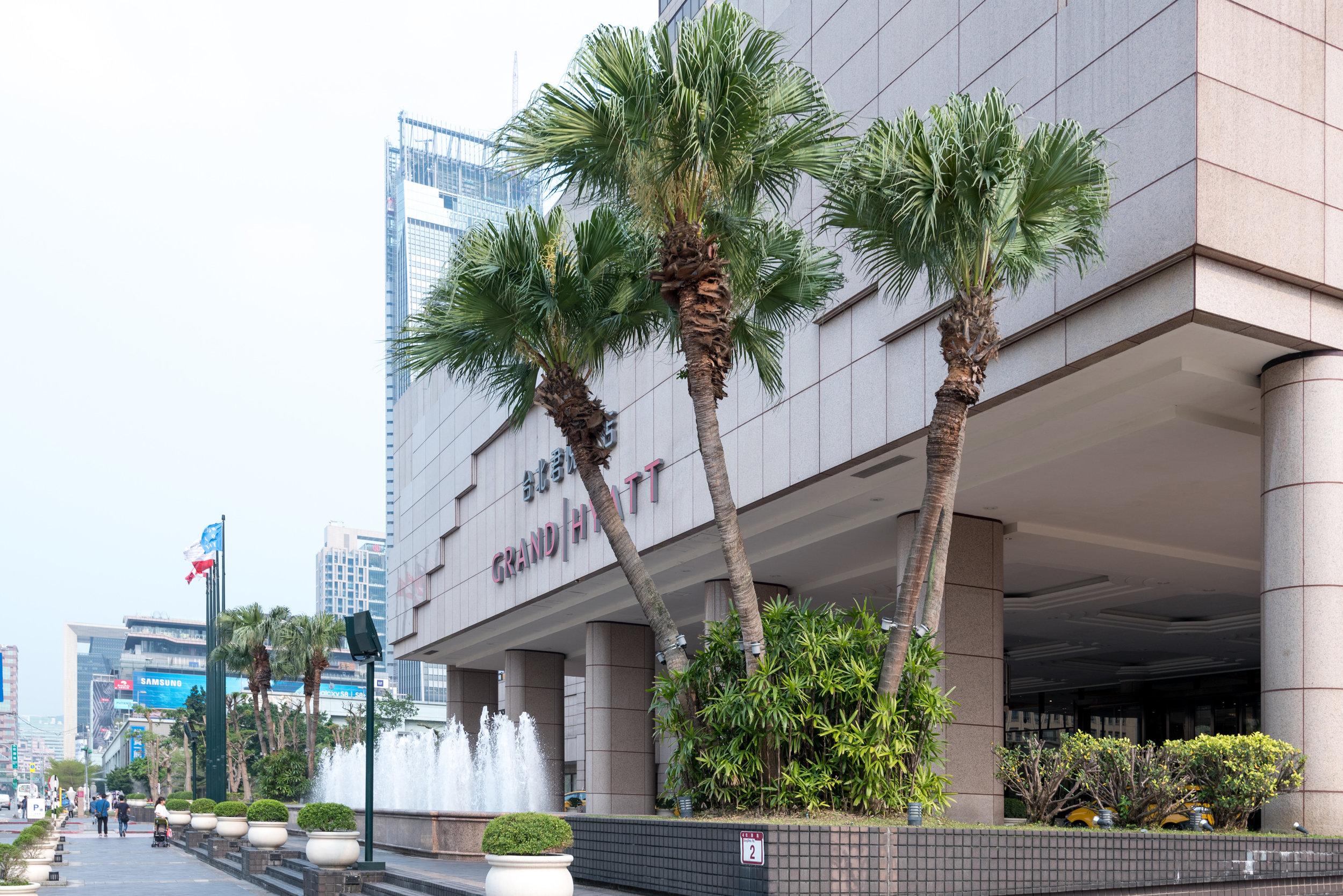 Hotel Exterior  Grand Hyatt Taipei