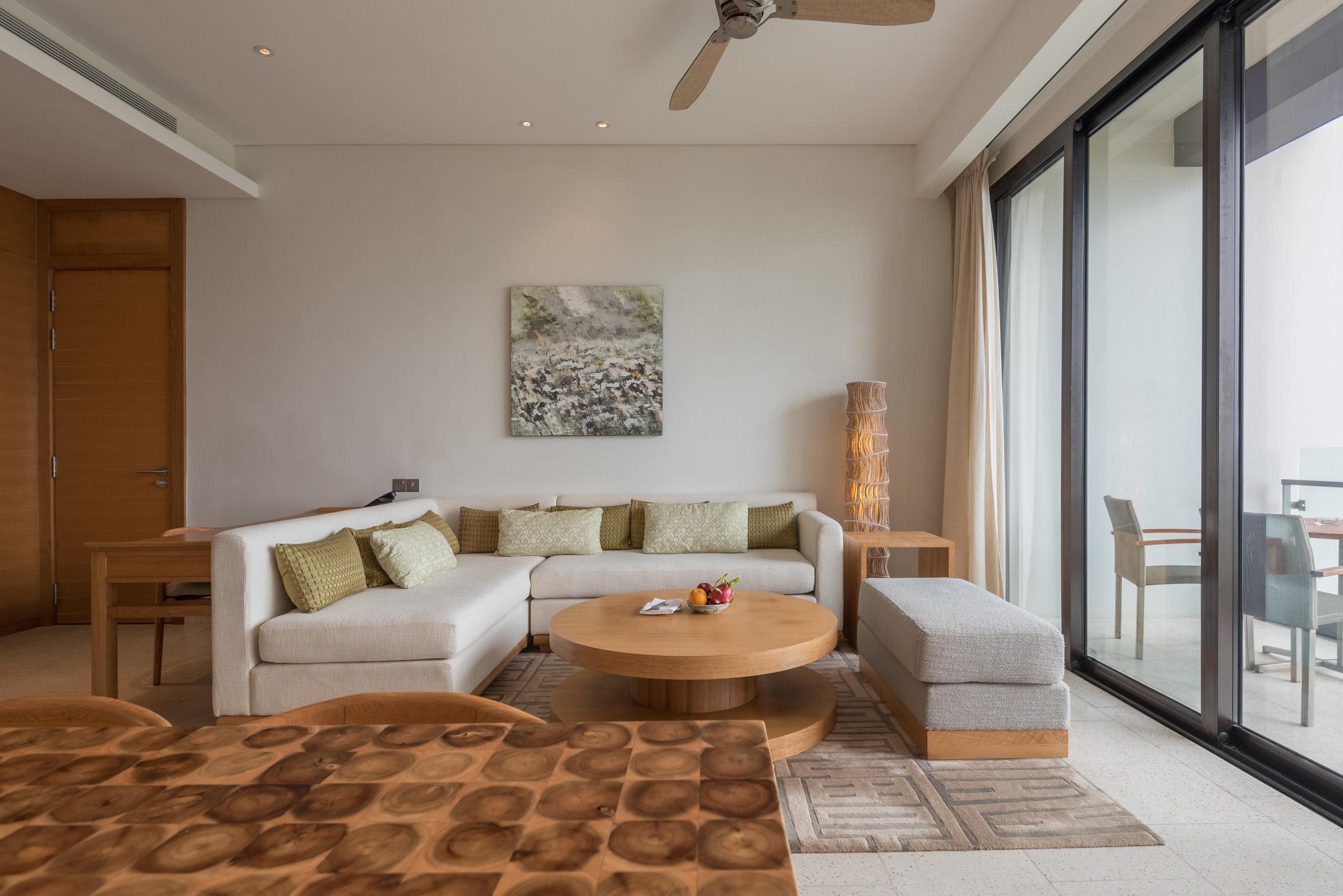 Sofa and Living Area  Regency Suite - Hyatt Regency Danang Resort and Spa