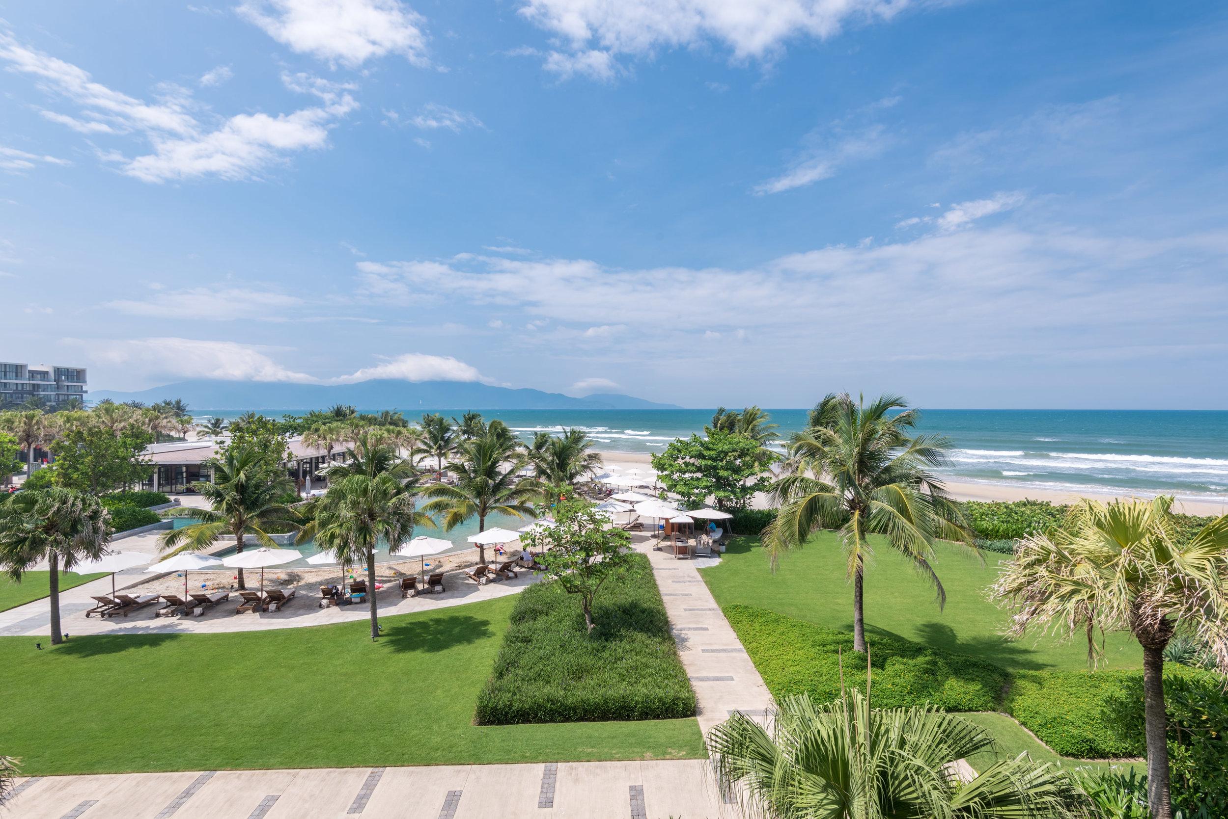 View from Balcony  Regency Suite - Hyatt Regency Danang Resort and Spa