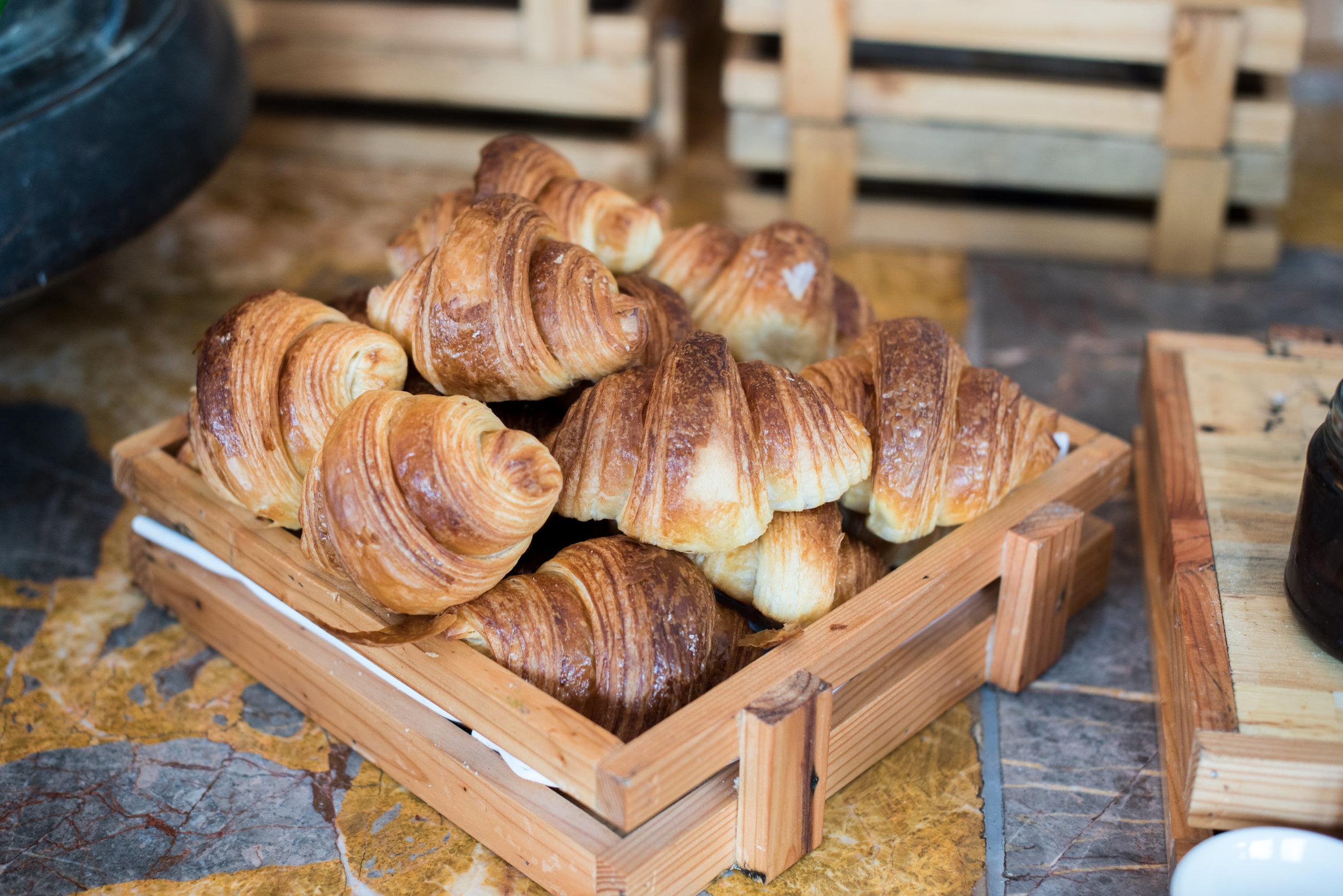 Fresh Croissants and Other Pastries  Regency Club - Hyatt Regency Danang Resort and Spa