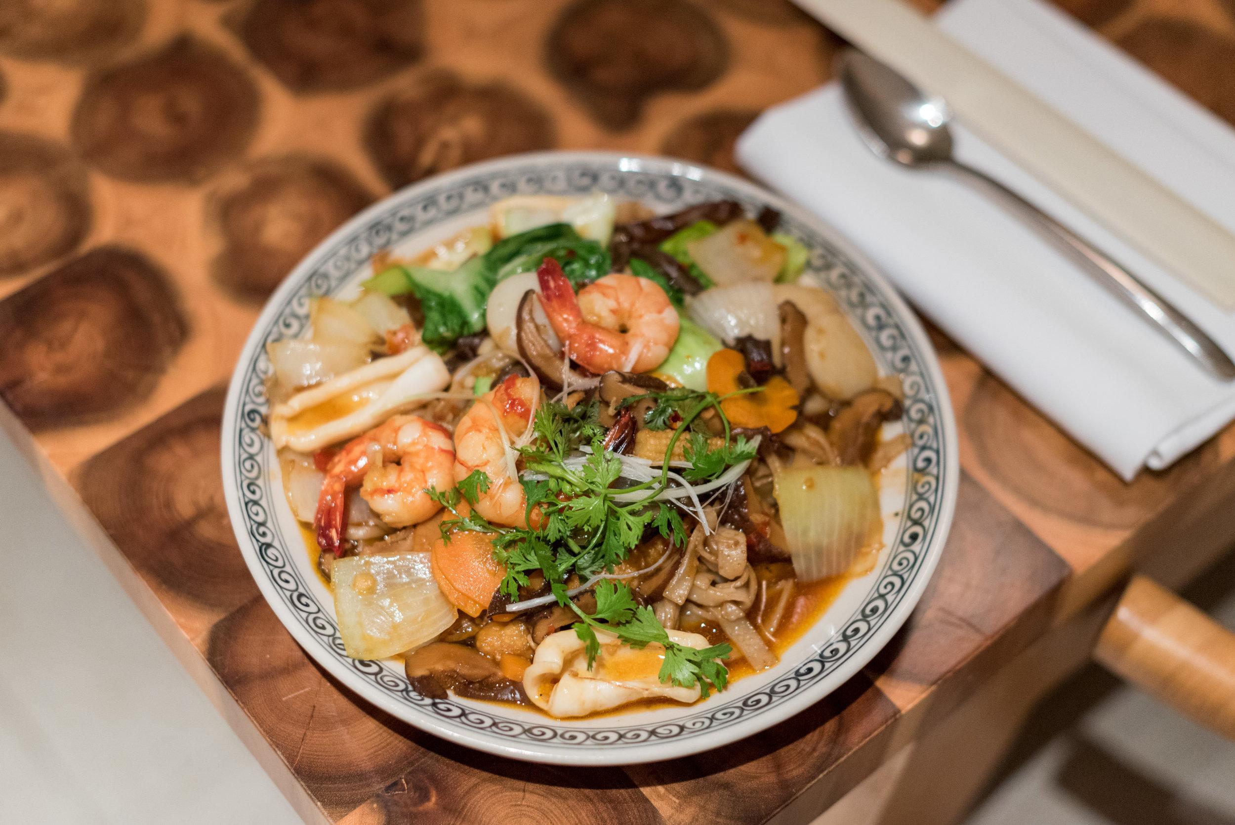 Seafood Noodles (Room Service)  Regency Suite - Hyatt Regency Danang Resort and Spa