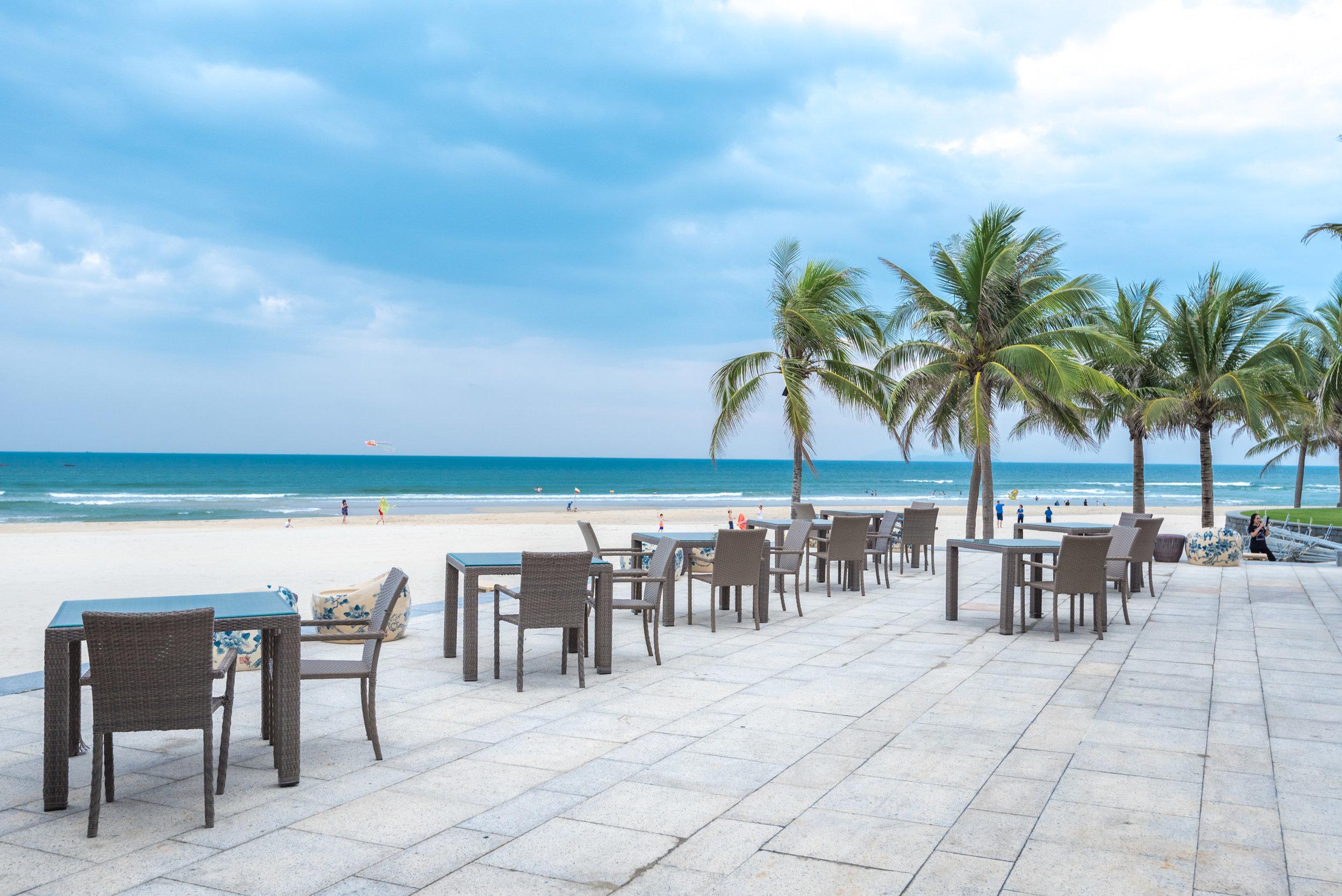 View from Beach House  Hyatt Regency Danang Resort and Spa