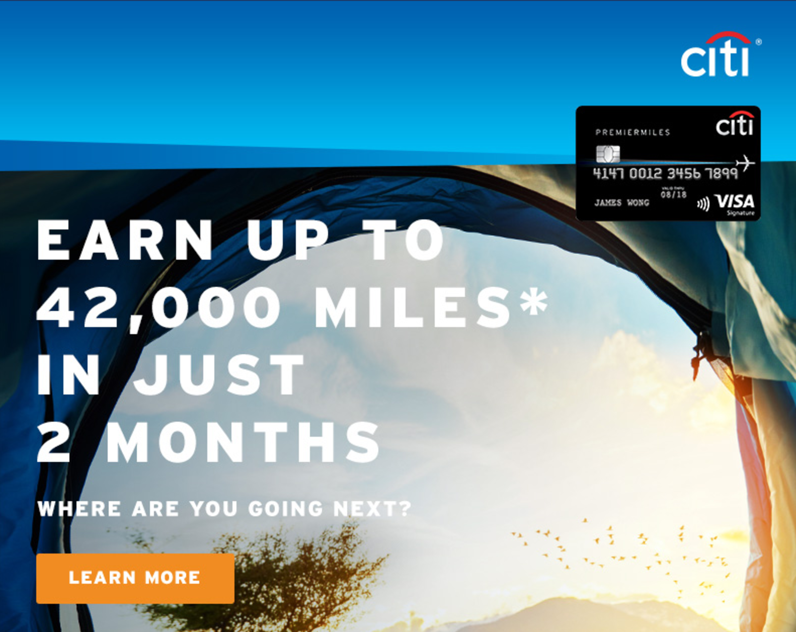 Buy 31,200 Citi Miles for S$238 | Photo Credit: Citibank