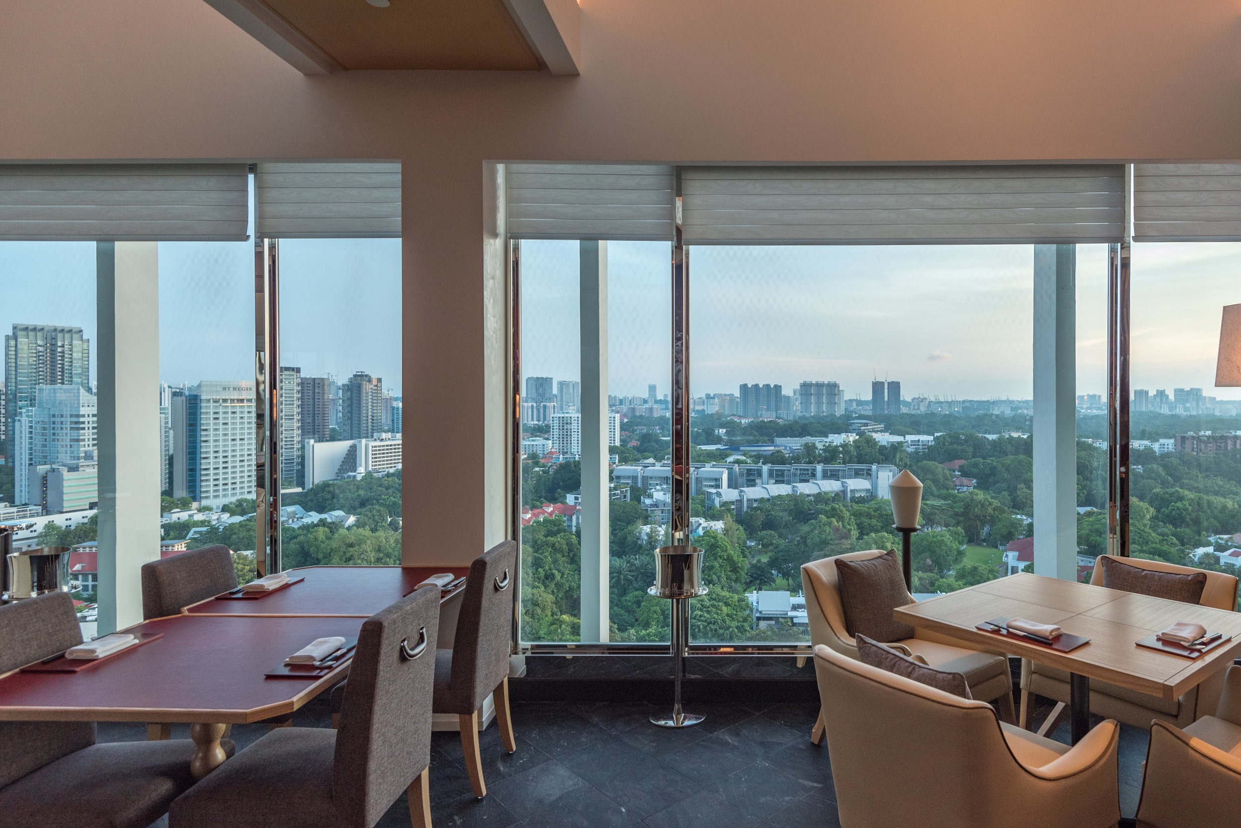 Japanese Fine Dining Restaurant with a View  NAMI - Shangri-La Hotel, Singapore