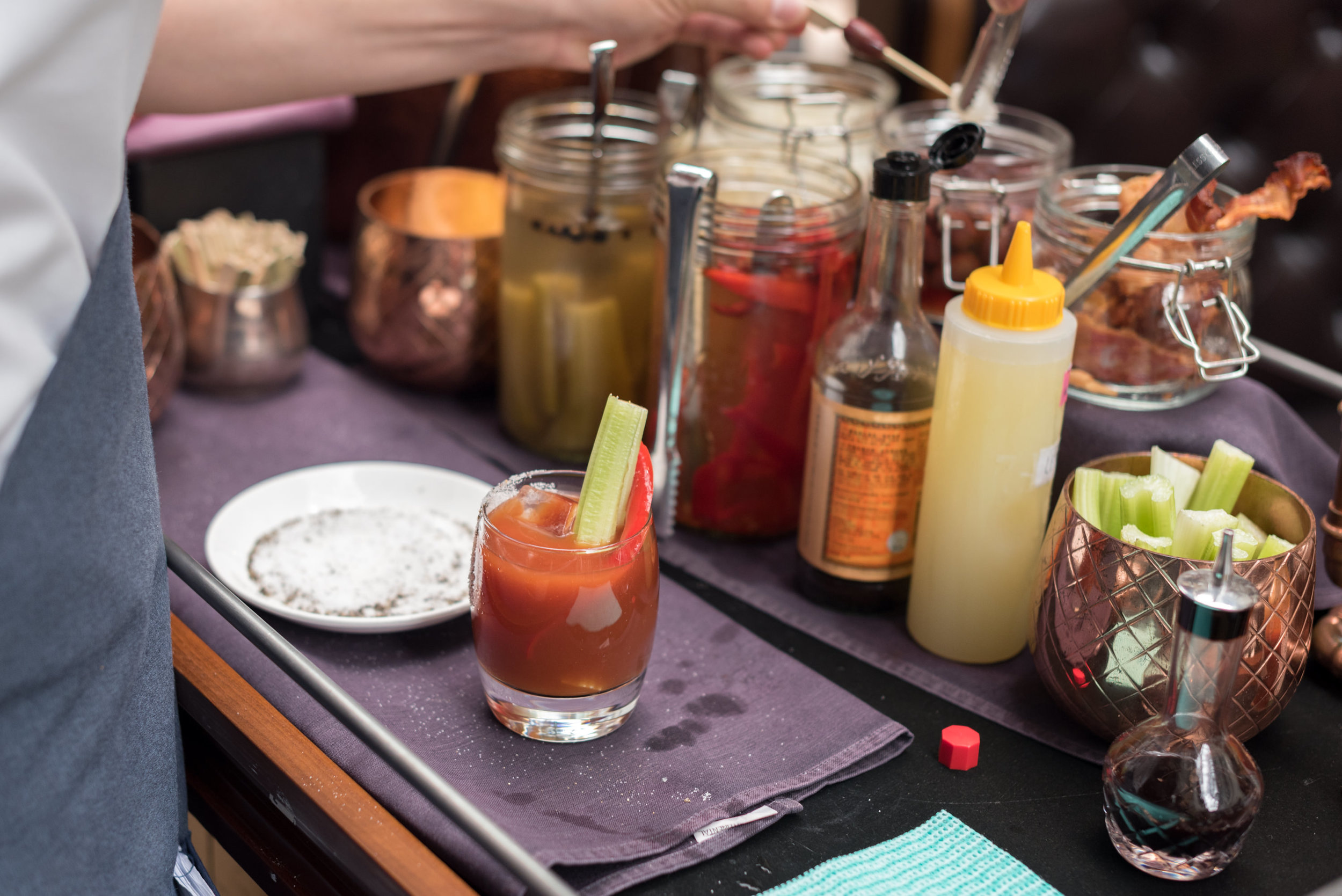 Bloody Mary  Ash & Elm - InterContinental Singapore