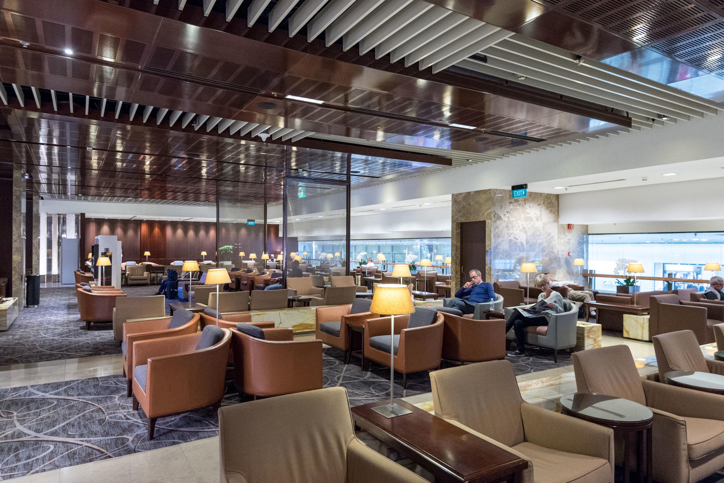 SilverKris Lounge (Terminal 3)  Changi Airport