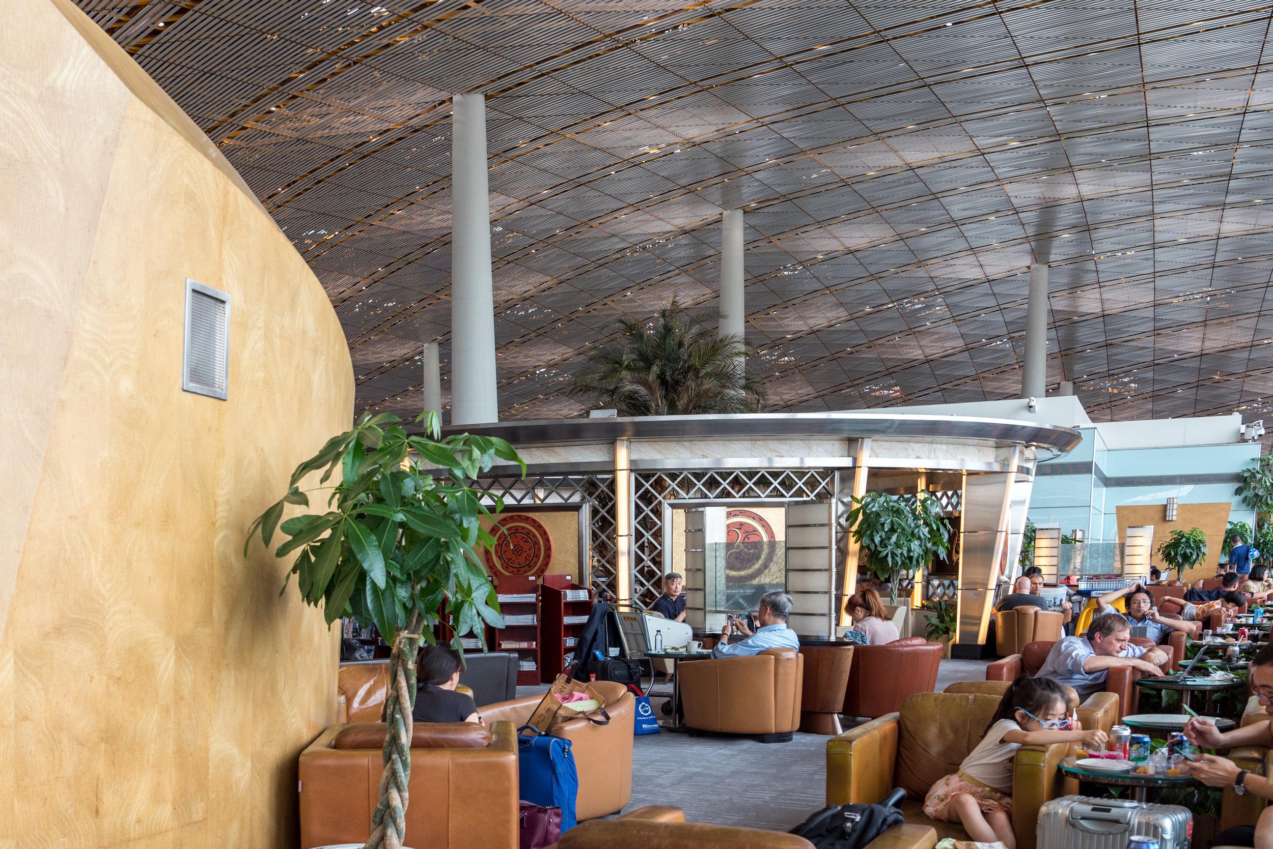 Air China International Business Class Lounge  Beijing Capital International Airport (PEK)