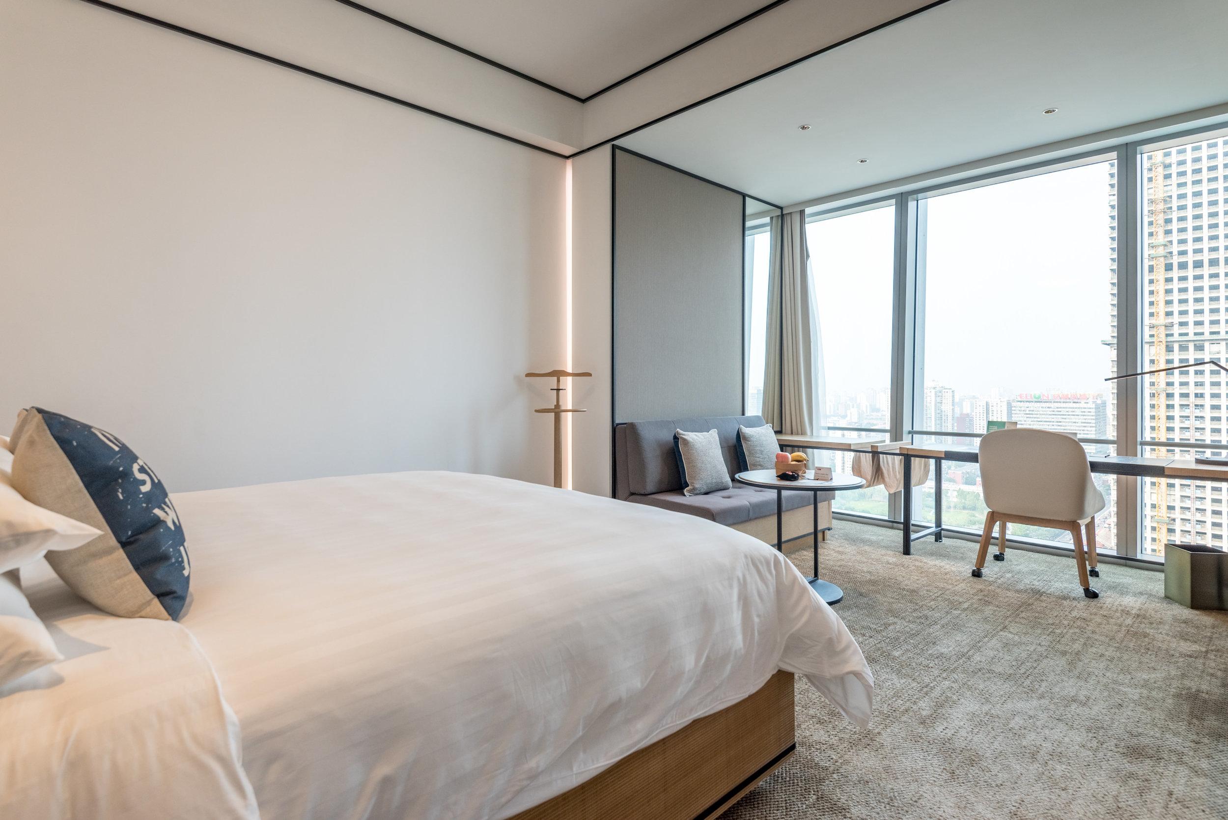 Bedroom  Jen Skyline - Hotel Jen Beijing