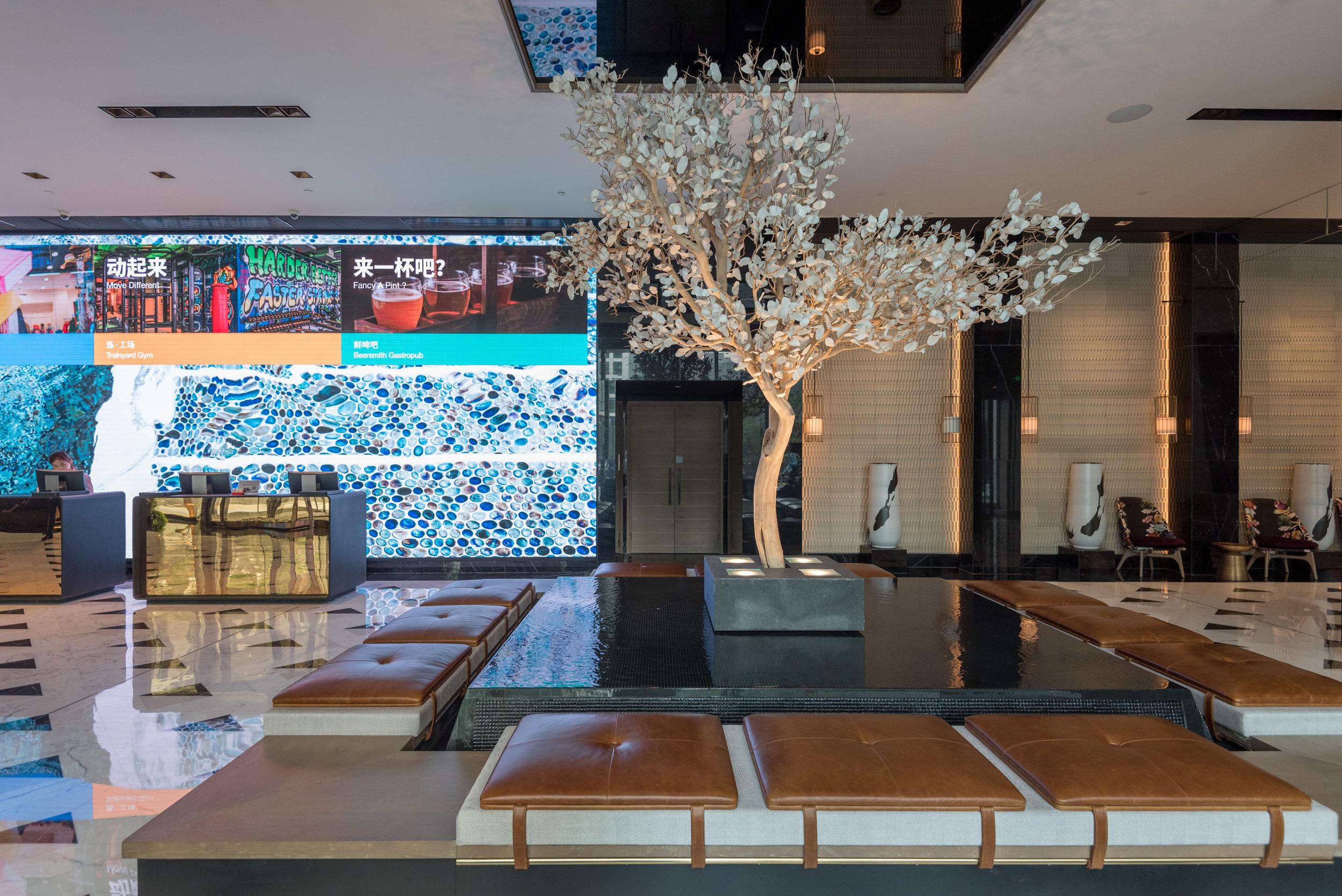 Hotel Lobby  Hotel Jen Beijing