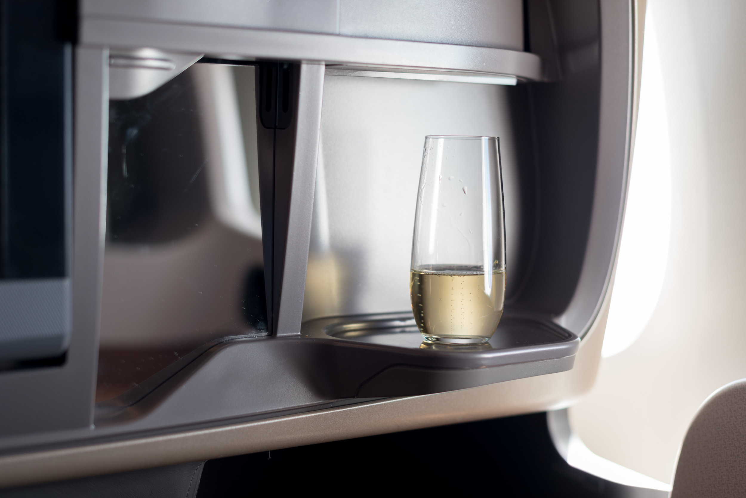 Charles Heidsieck Brut Reserve Champagne  Singapore Airlines SQ856 Business - SIN to HKG