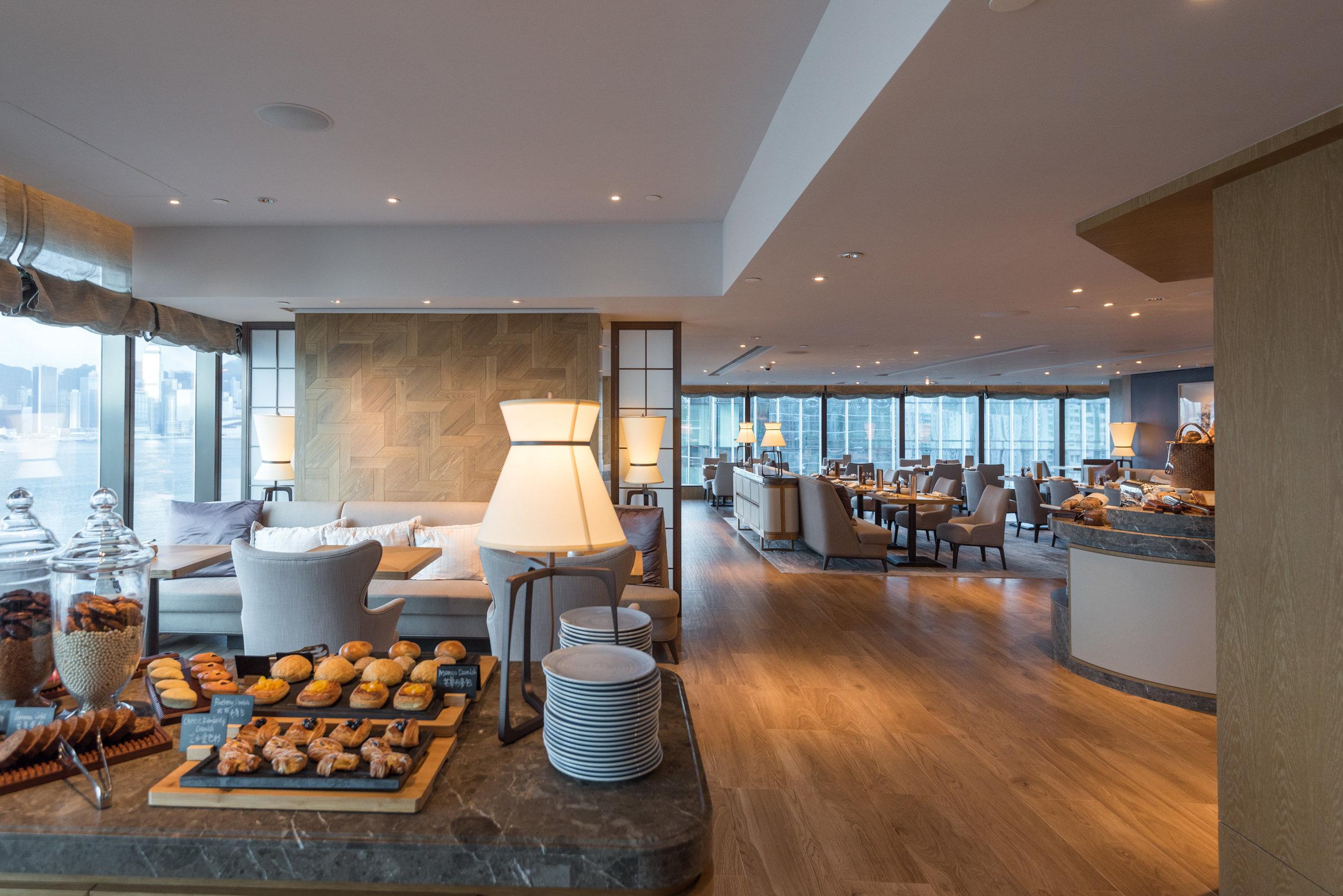 Interiors  The Club - Kerry Hotel, Hong Kong