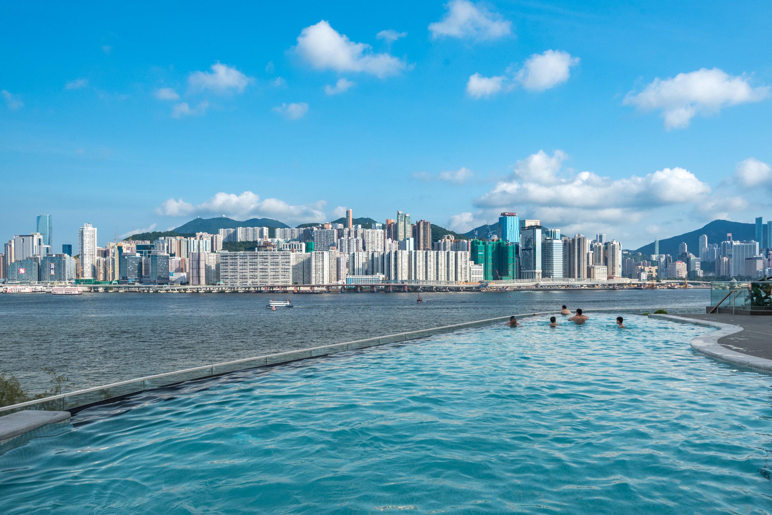 Swimming Pool  Kerry Hotel, Hong Kong