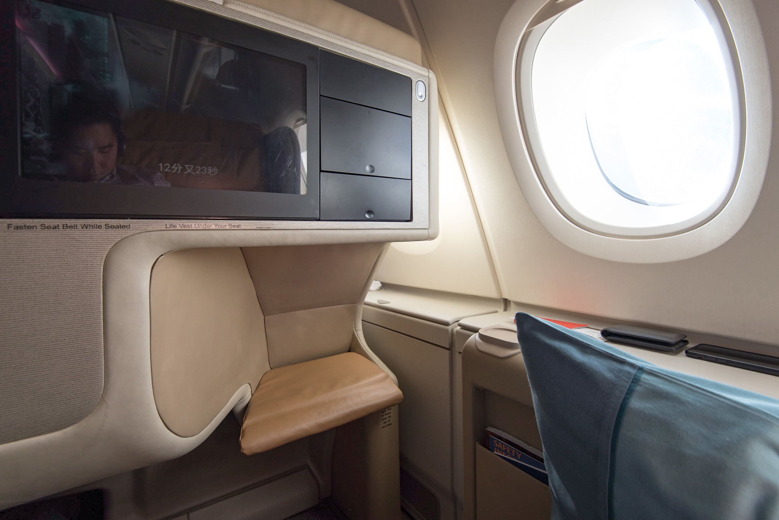 Business Class on Singapore Airlines (A380-800)