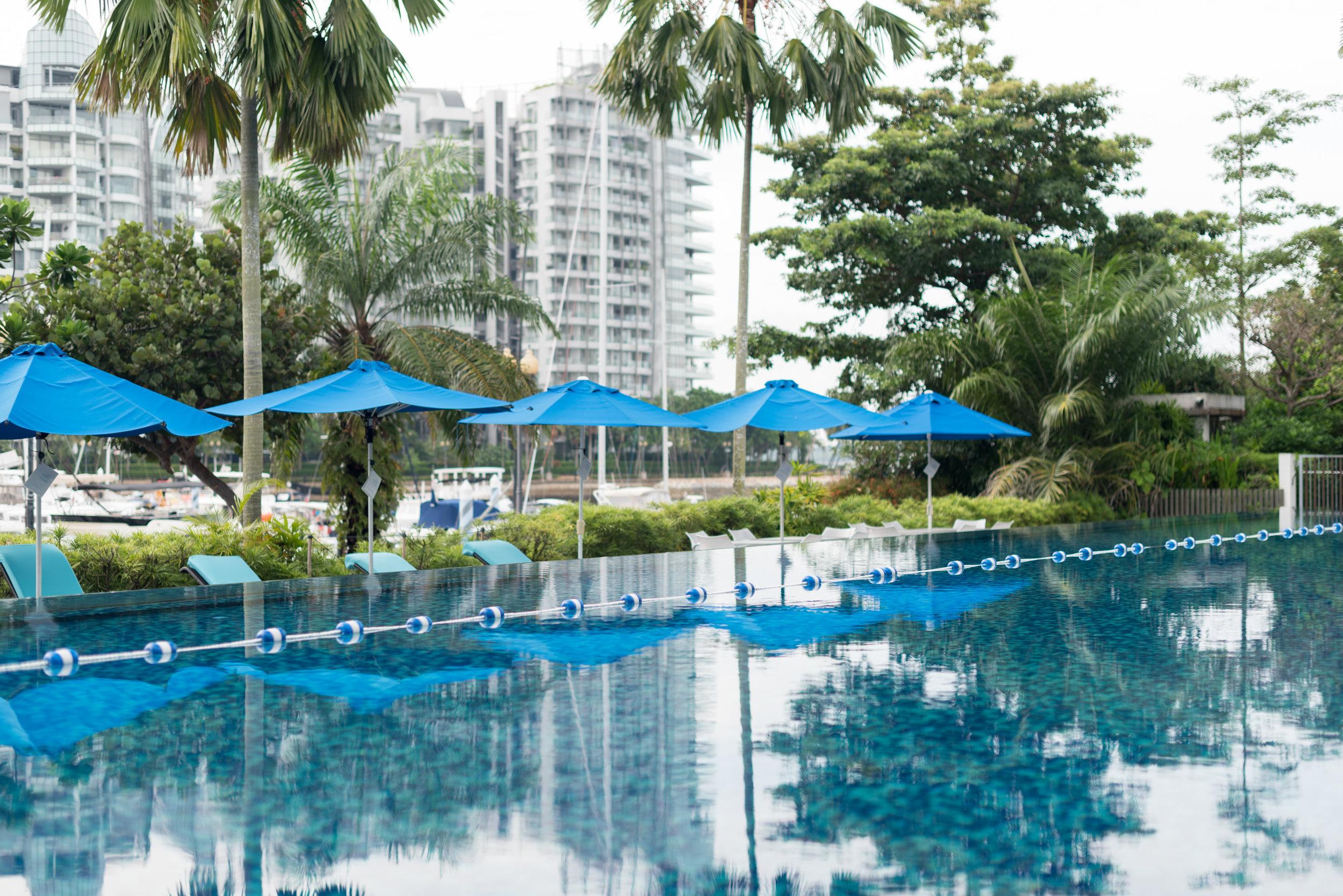 Swimming Pool  Marina View Room - ONE°15 Marina Club