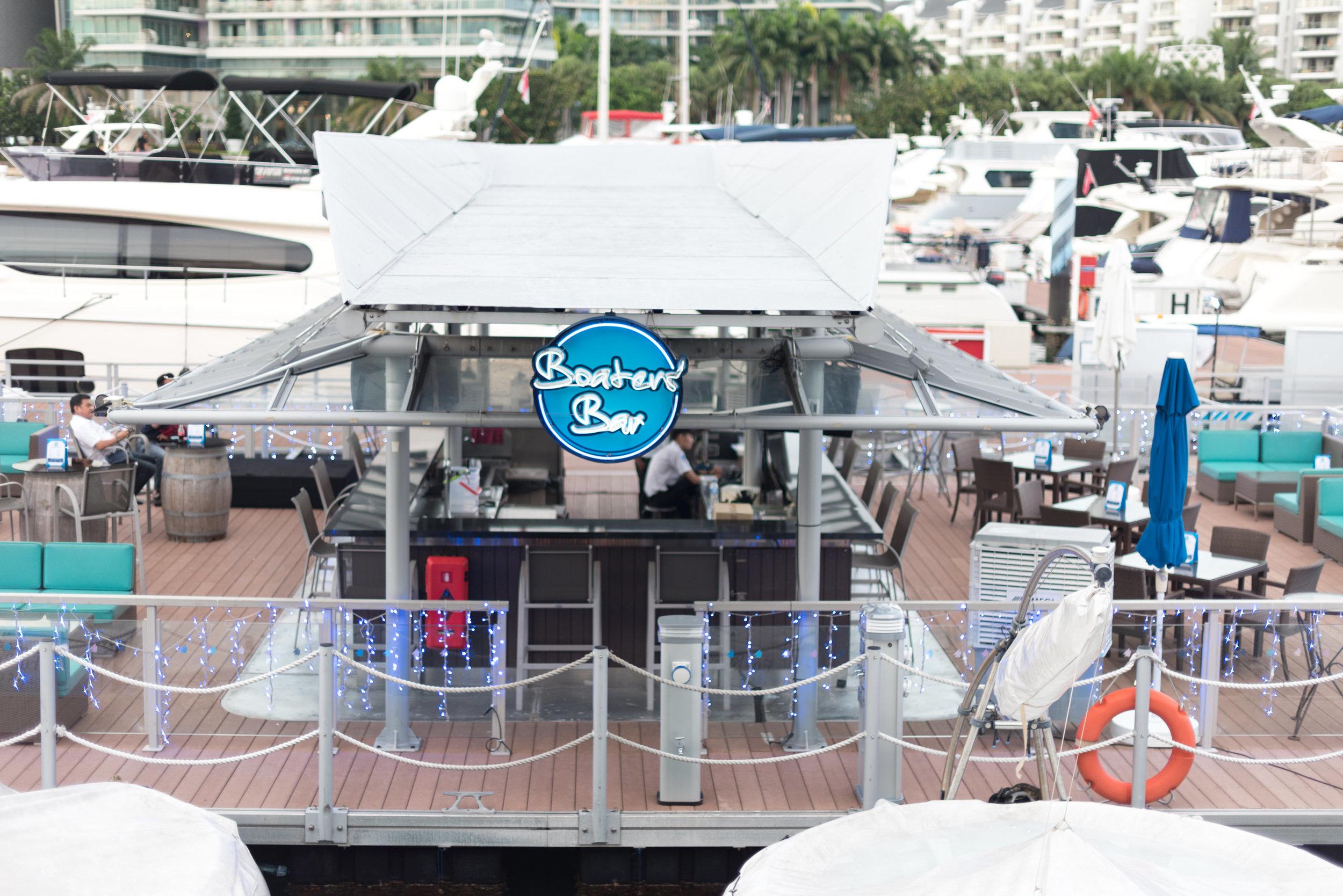 Boaters' Bar  ONE°15 Marina Club