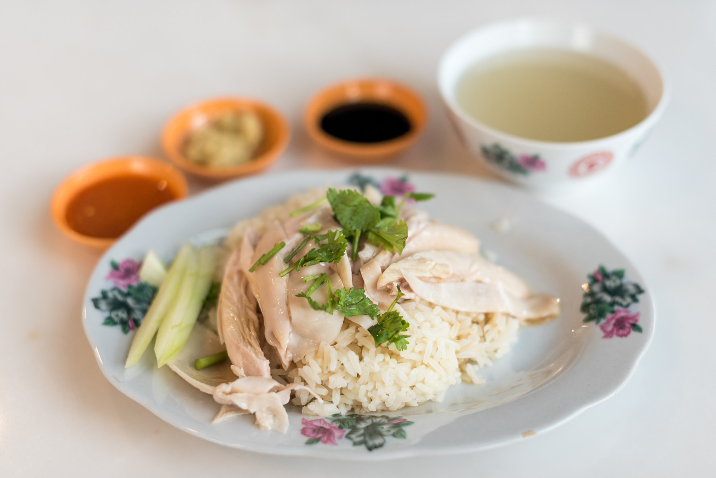Chicken Rice  Let's Eat - Quayside Isle (Sentosa Cove)