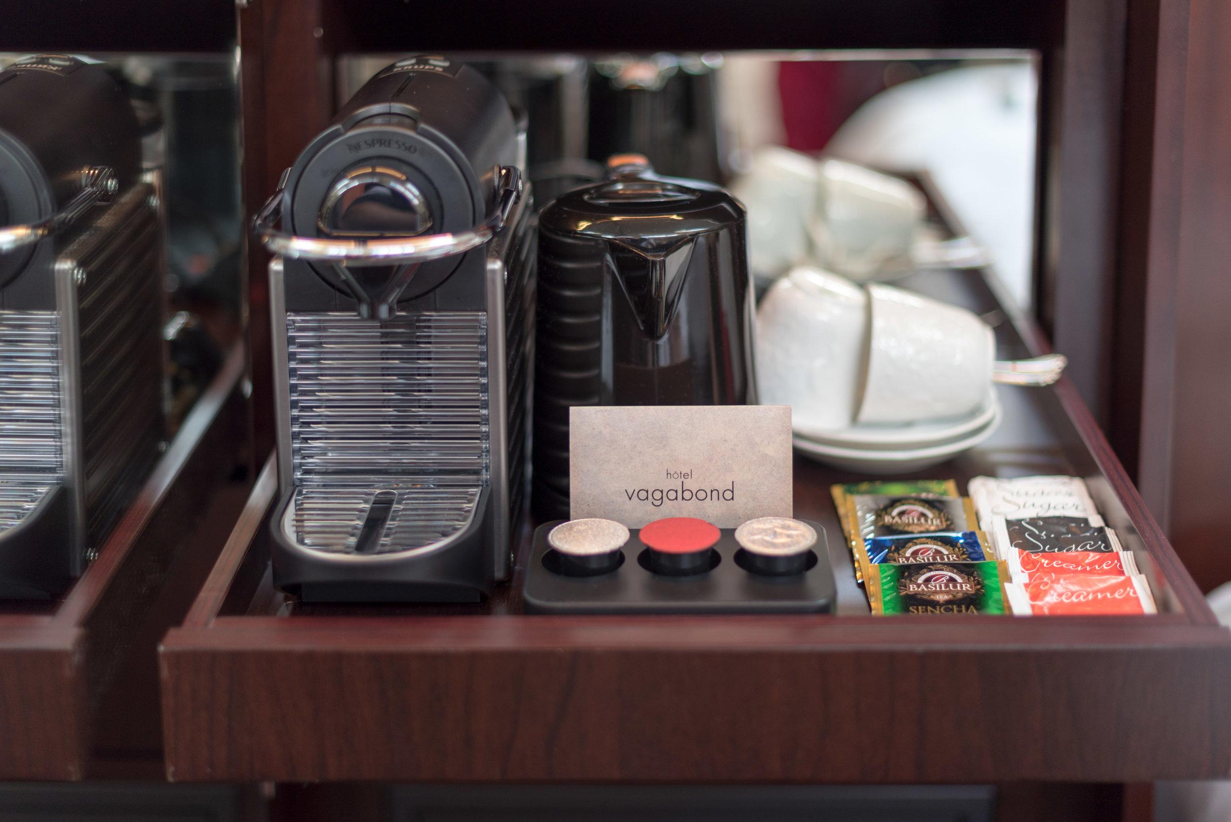 Nespresso Coffee Machine  Art Executive Club Suite - The Vagabond Club, A Tribute Portfolio Hotel, Singapore