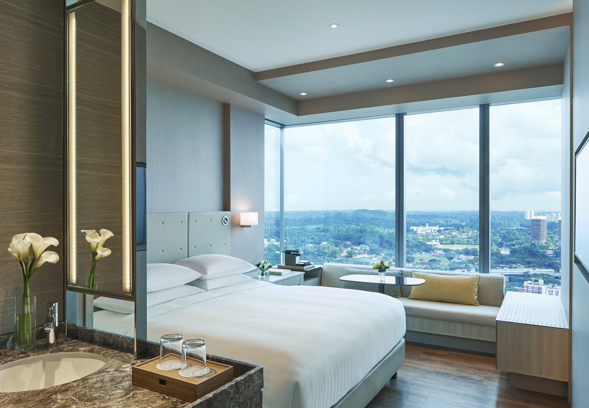 Executive Corner Room | Photo Credit: Courtyard by Marriott Singapore Novena