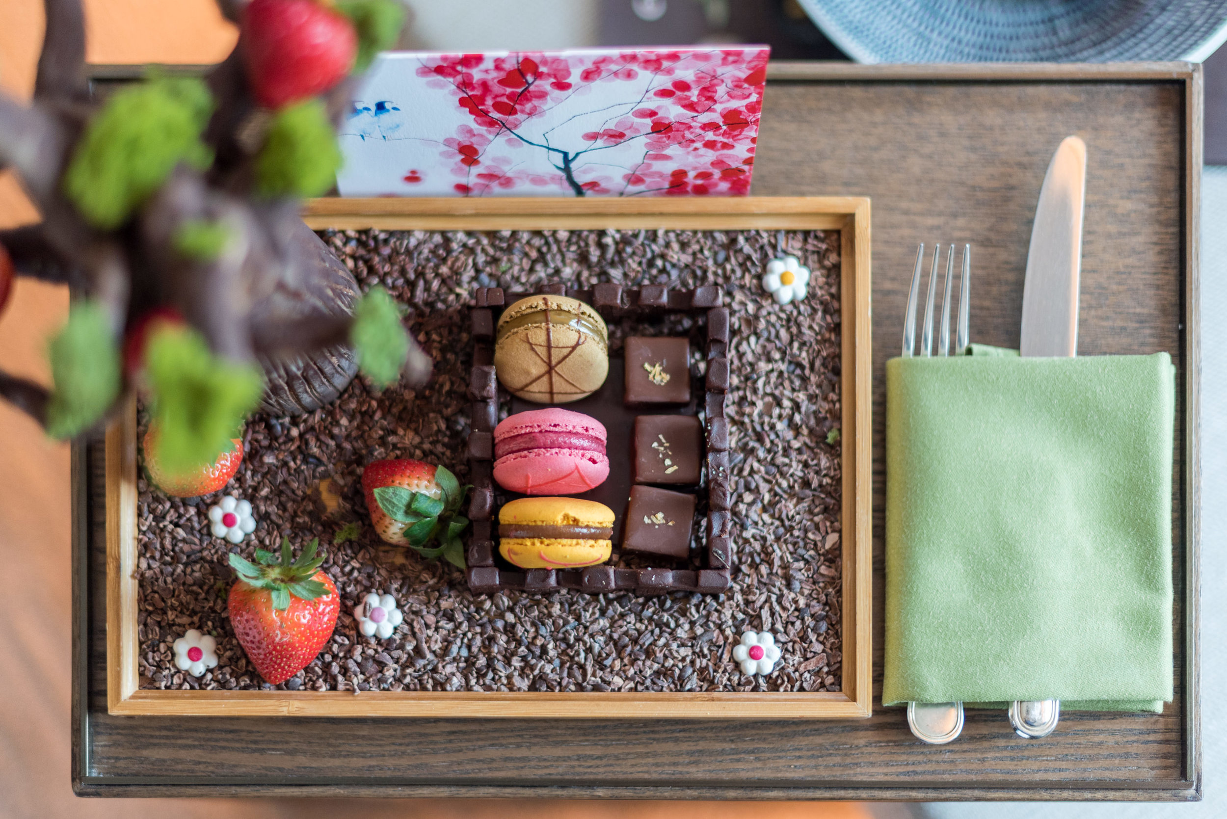 Special VIP Welcome Amenity  Deluxe Room (Refurbished) - Conrad Centennial Singapore