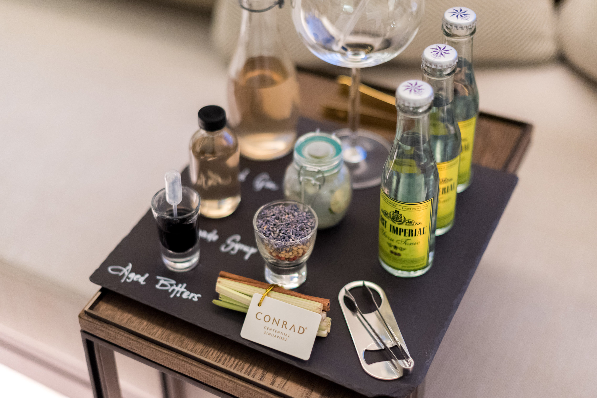 Gin and Tonic  Deluxe Room (Refurbished)- Conrad Centennial Singapore