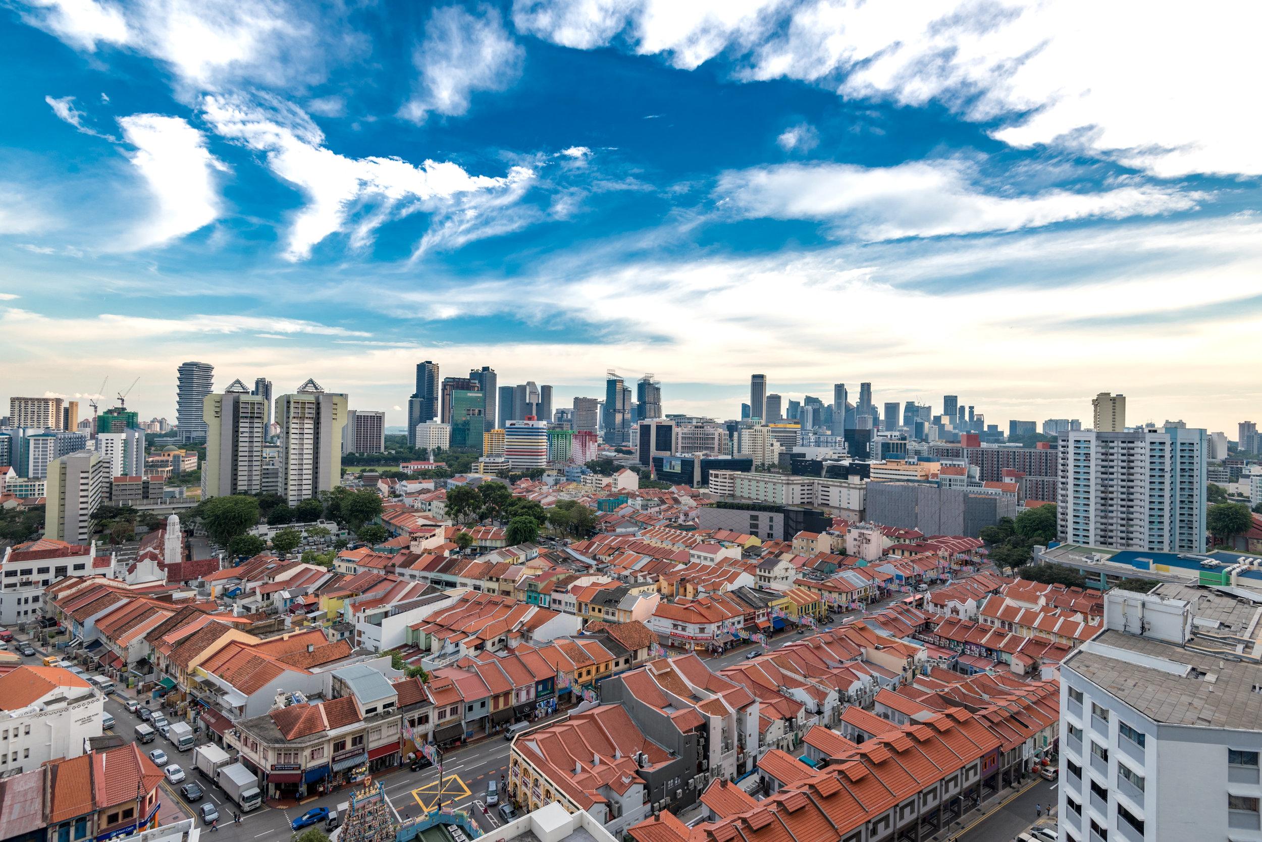 View from Balcony  King Deluxe Room with Balcony - Hilton Garden Inn Singapore Serangoon