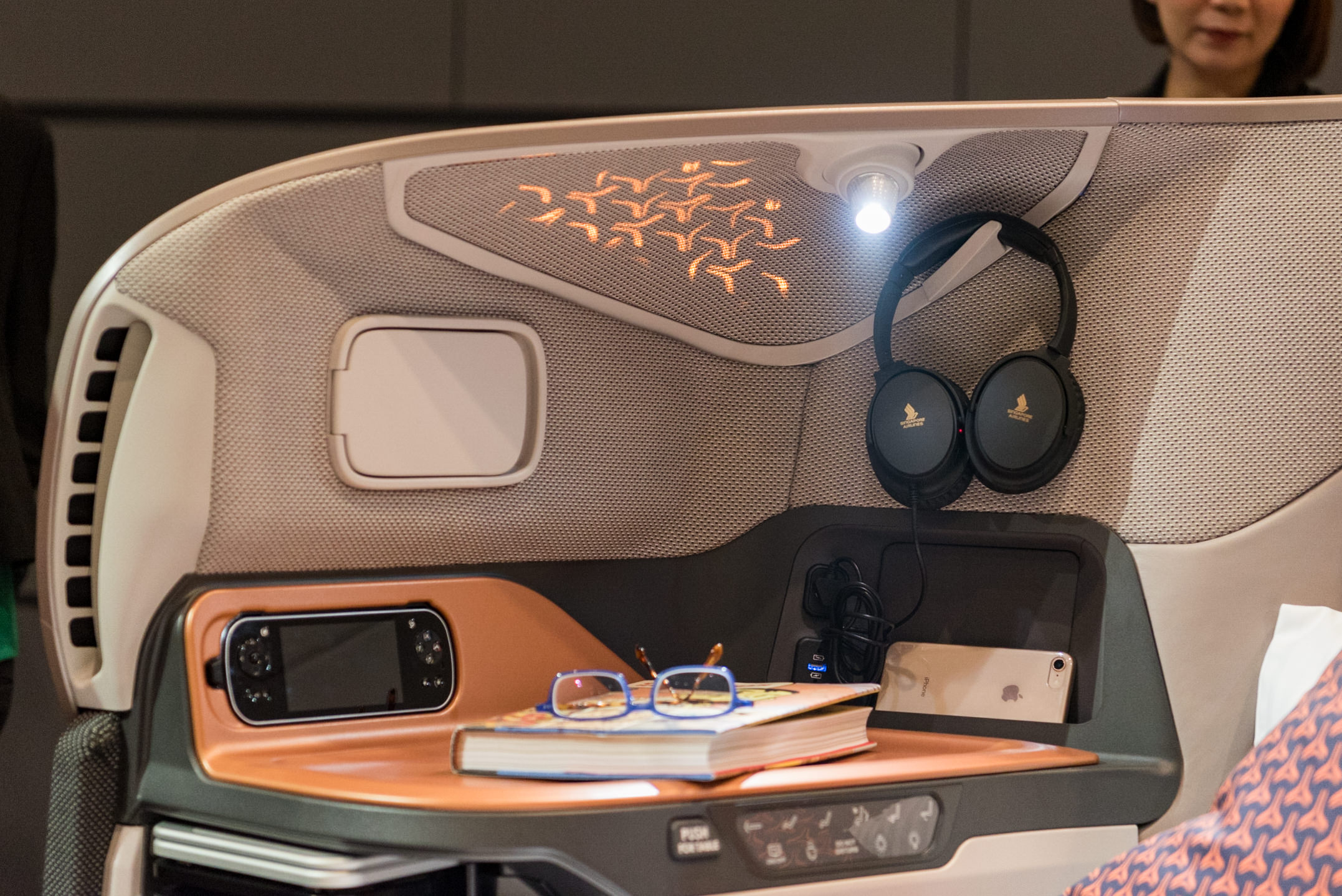 Mood Lighting   New Business Class (2017) Product on Singapore Airlines' A380