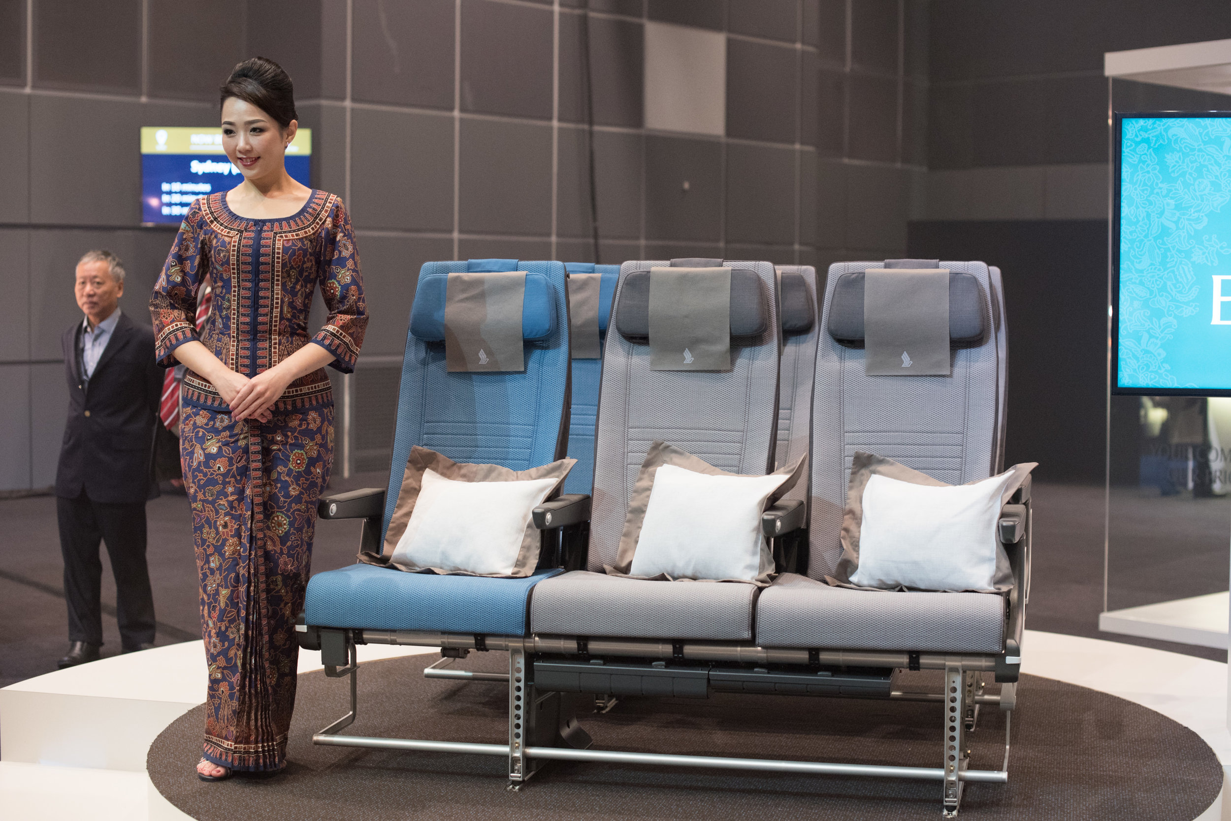 New Economy Class (2017) Product on Singapore Airlines' A380