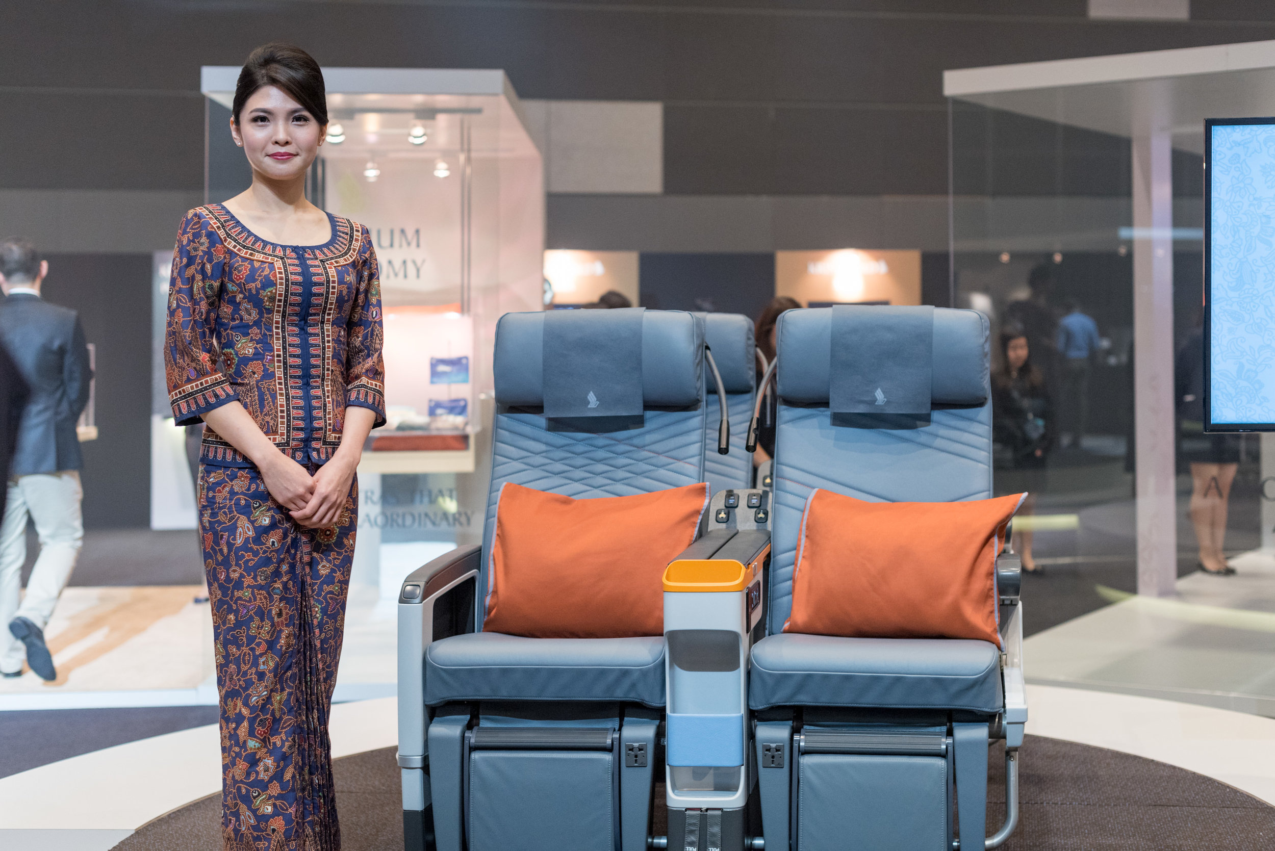New Premium Economy Class (2017) Product on Singapore Airlines' A380