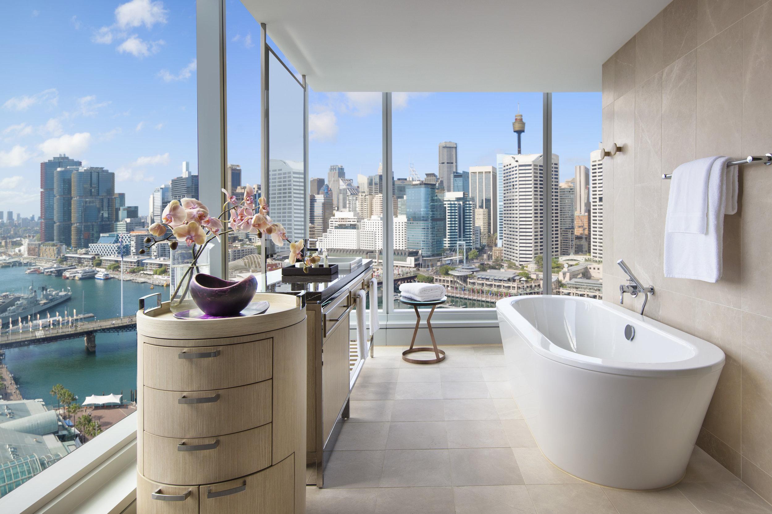 Bathroom | Photo Credit:Sofitel Sydney Darling Harbour