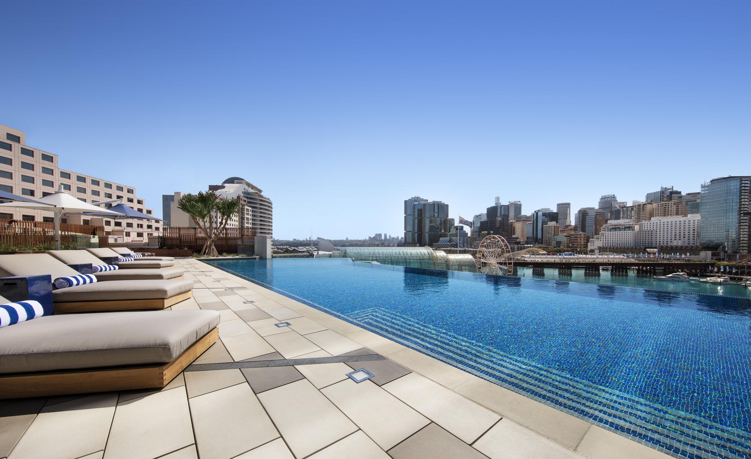 Pool Deck | Photo Credit: Sofitel Sydney Darling Harbour