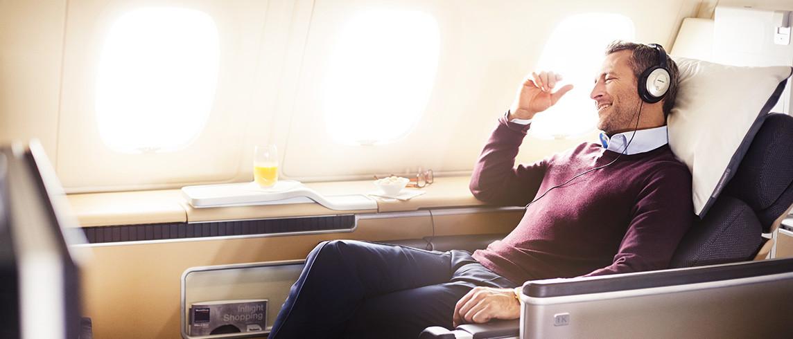 First Class | Photo Credit: Lufthansa
