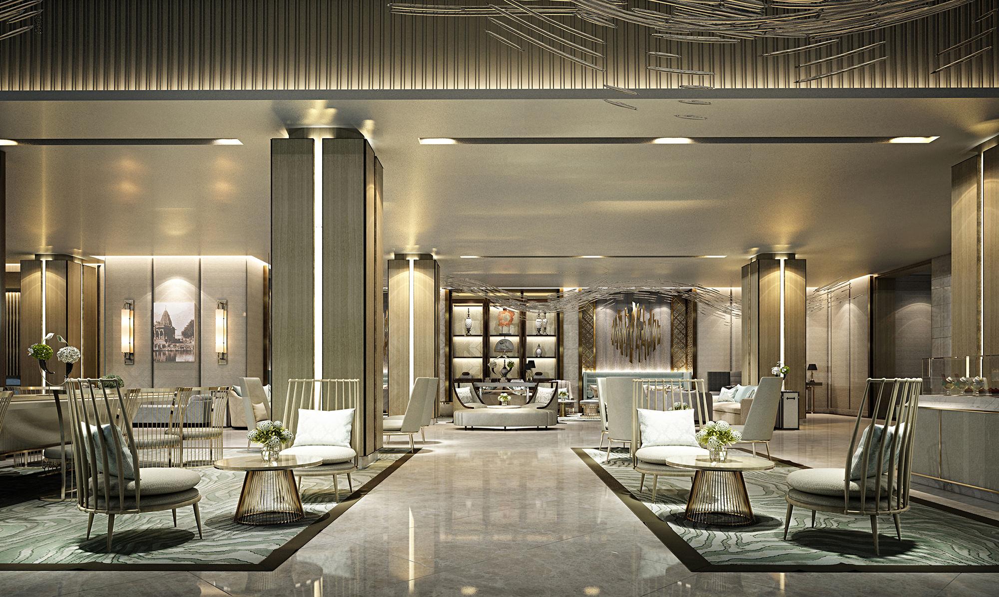 Lobby | Photo Credit: Indore Marriott Hotel