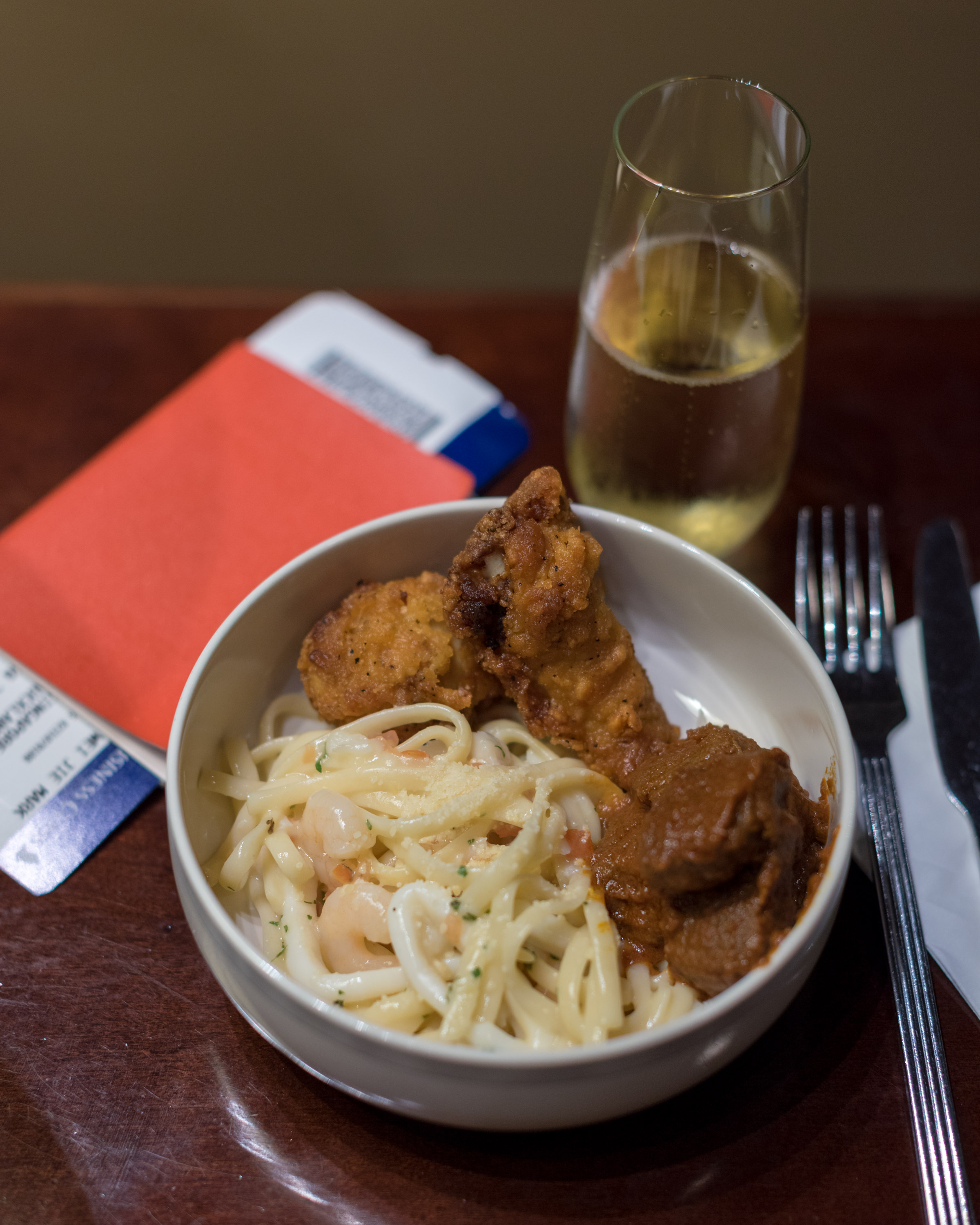 Charles Heidsieck Brut Reserve Champagne and Pasta  SilverKris Lounge - Terminal 3, Changi Airport