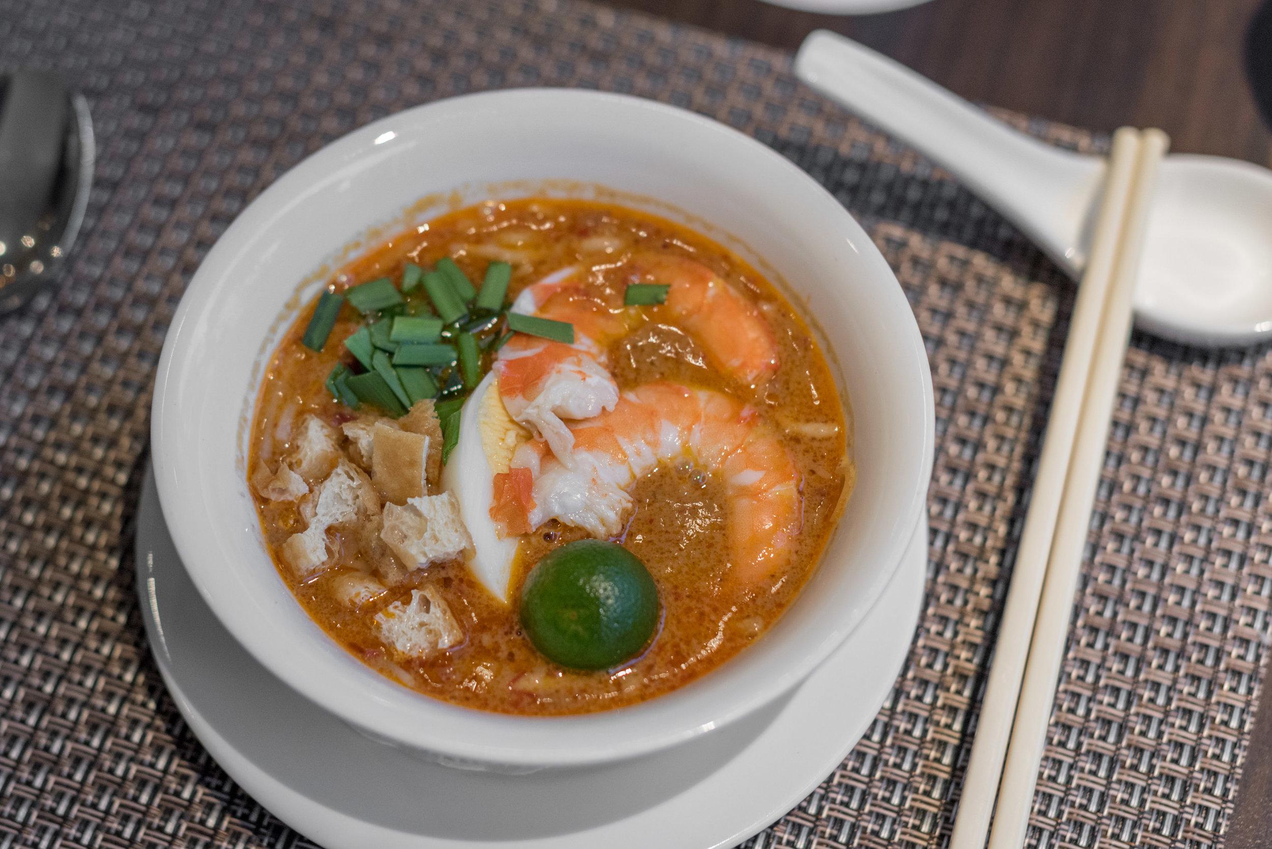 Mee Siam (Tasting Portion)  White Rose Café - York Hotel Singapore