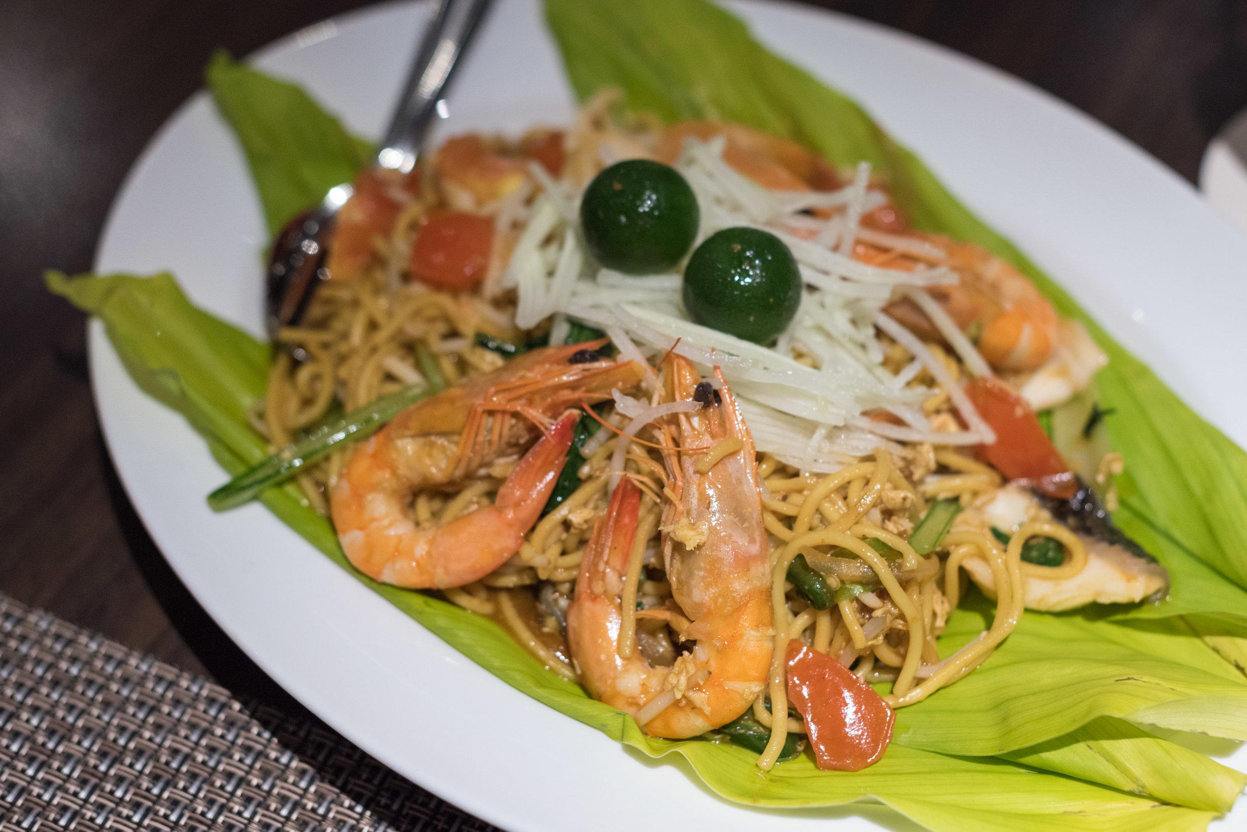 Seafood Mee Goreng - A La Carte Menu  White Rose Café - York Hotel Singapore