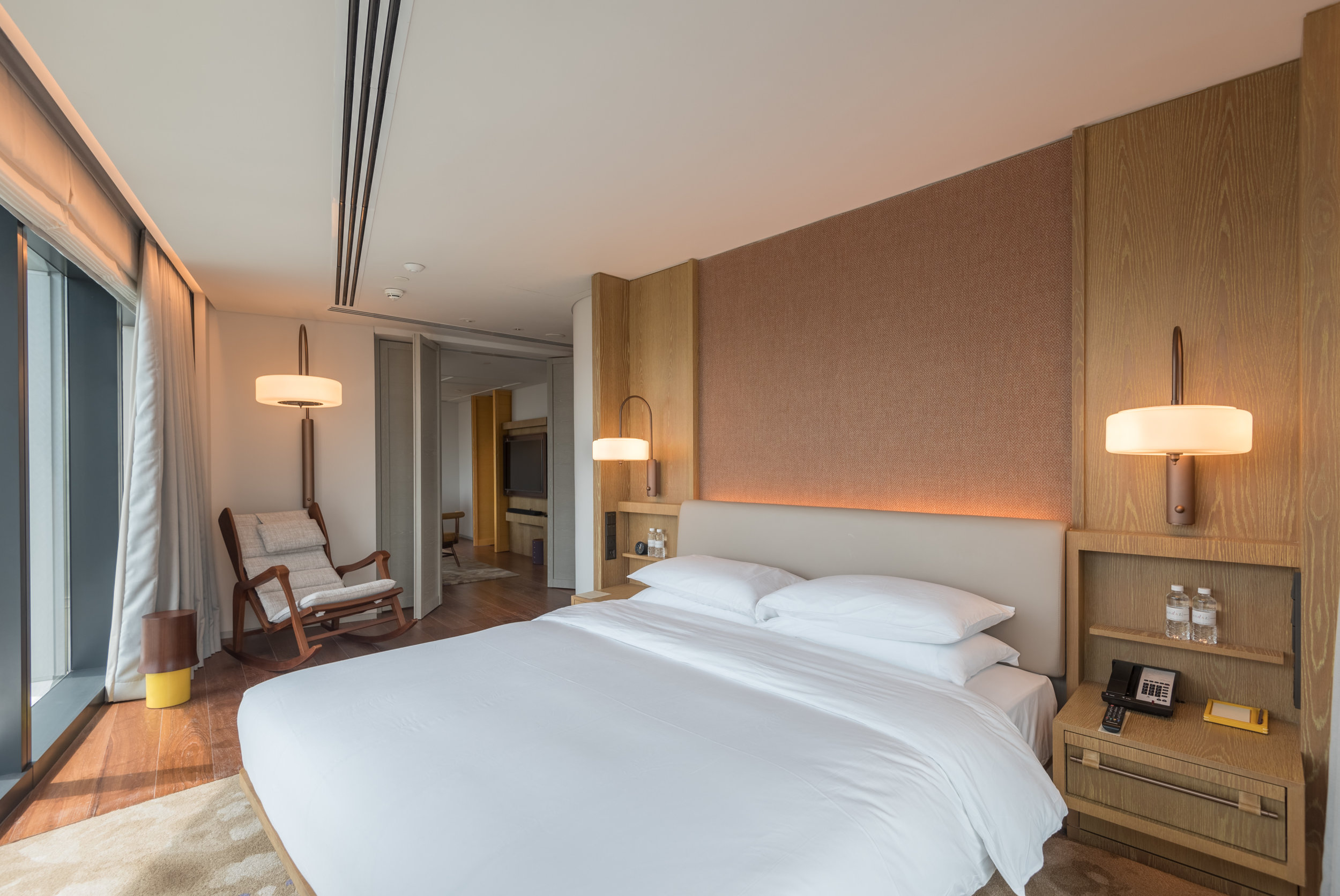 Bedroom  Andaz Suite King - Andaz Singapore
