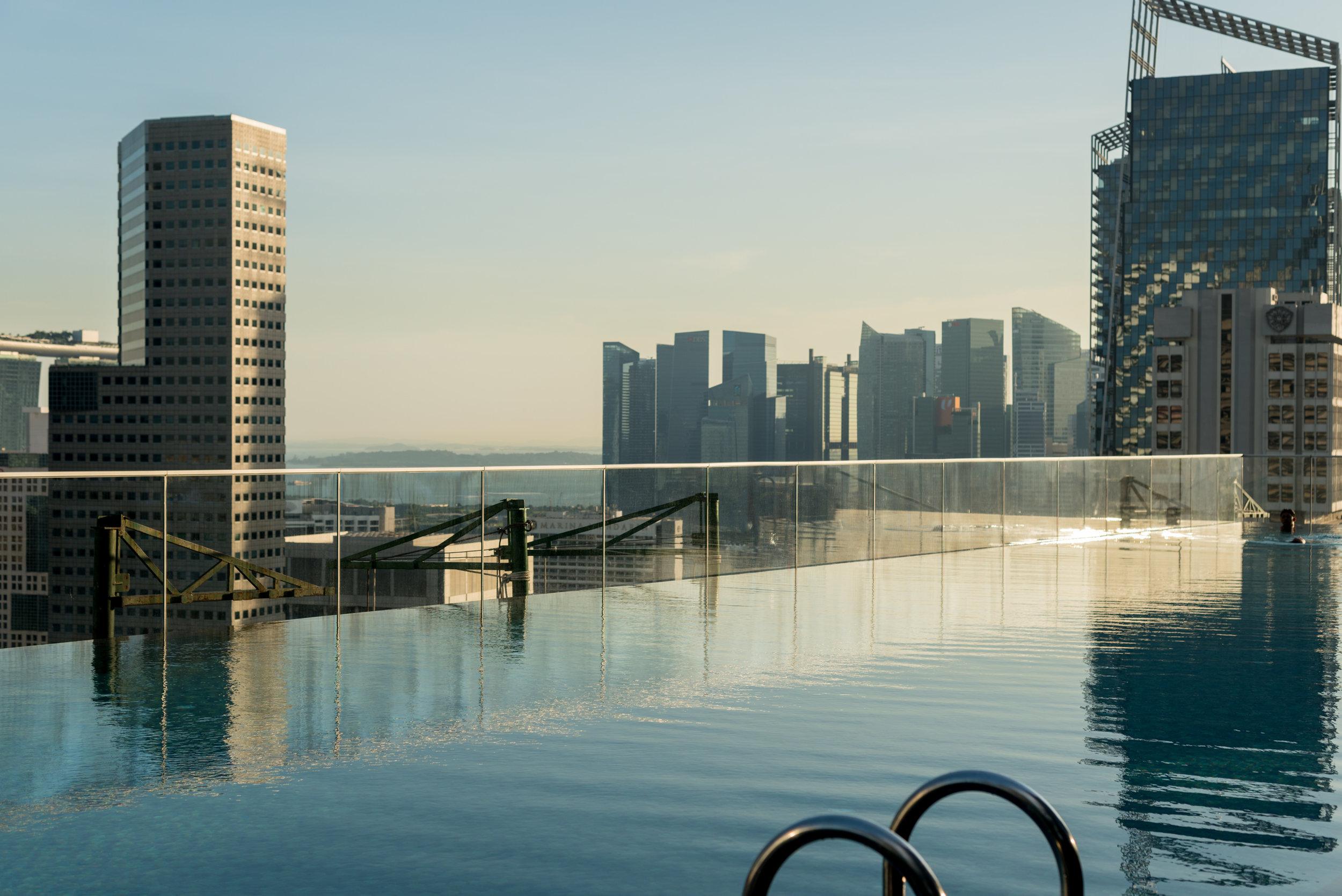 Swimming Pool  Andaz Singapore