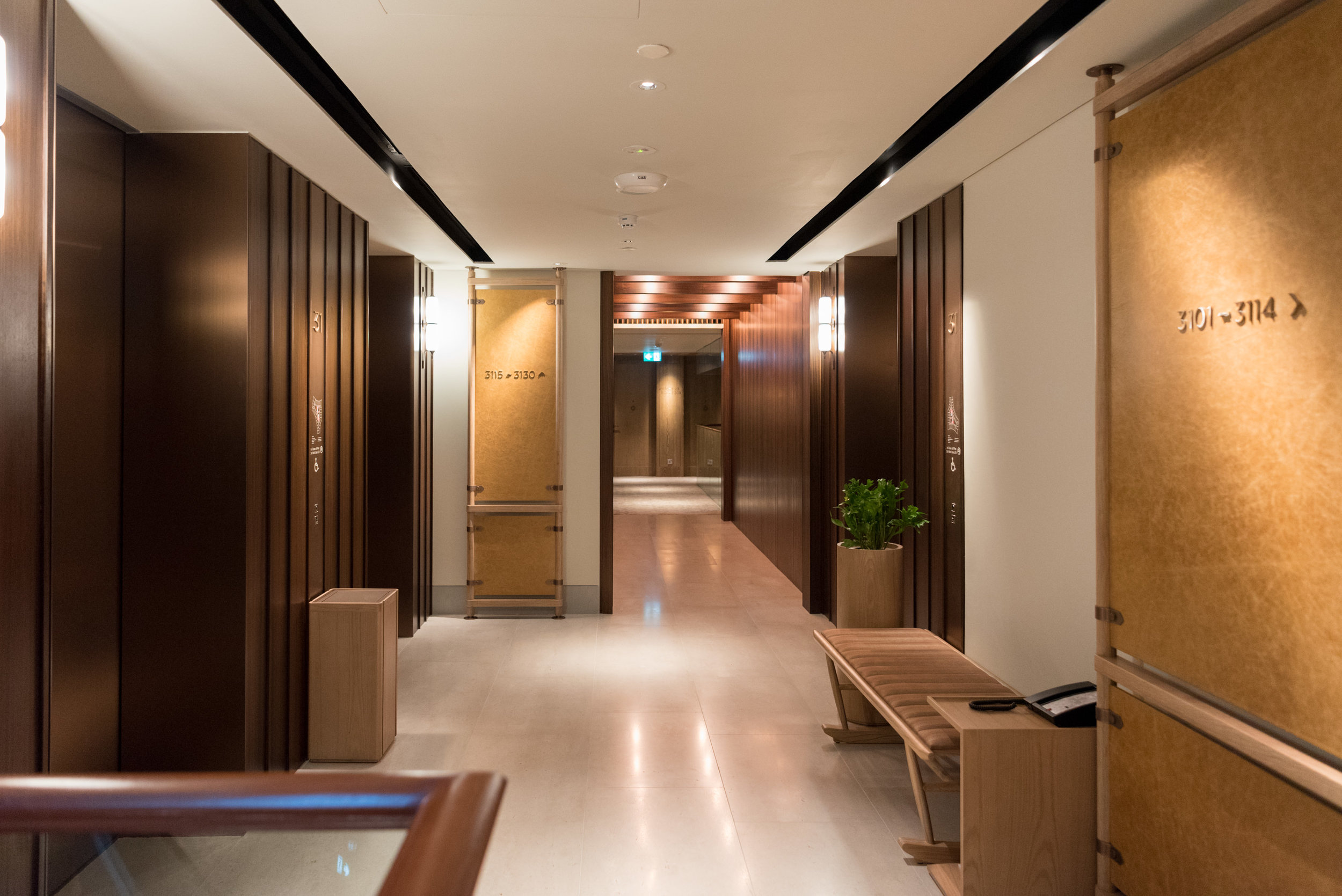 Lift Lobby  Andaz Singapore