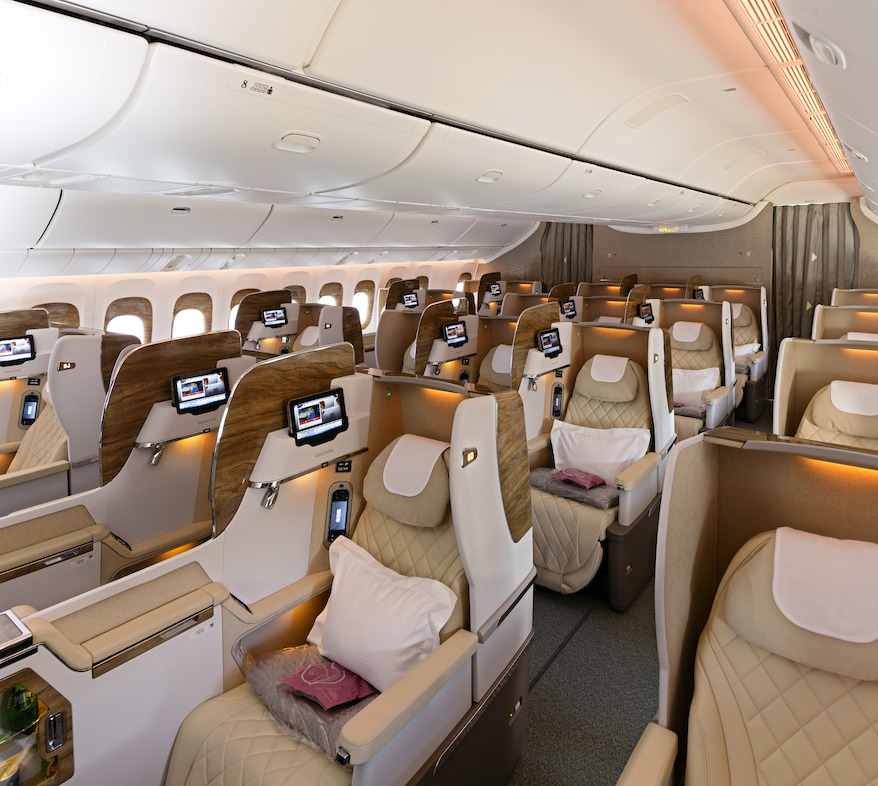 Business Class on 777-300ER | Photo Credit: Emirates
